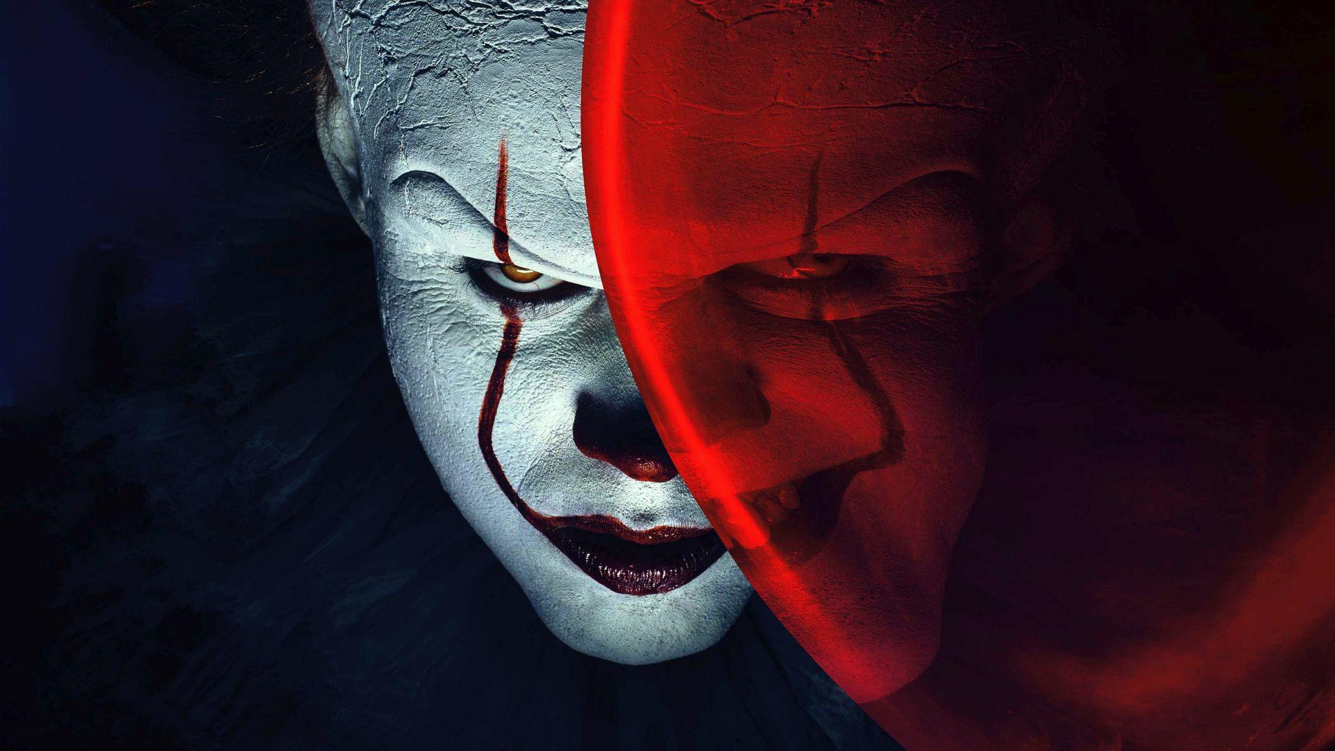 Desktop Wallpaper Joker Clowns It Balloon Movie 4k Hd