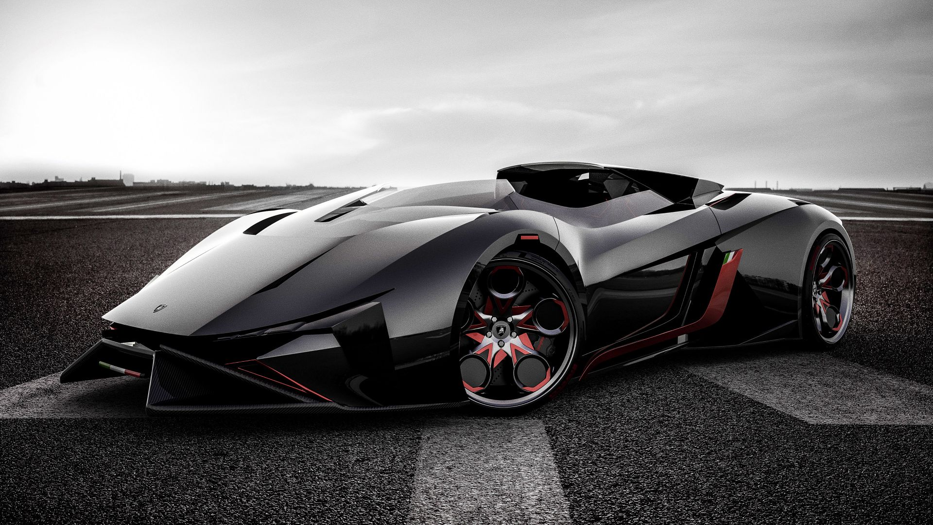 Wallpaper Lamborghini Diamante, sports car, Concept car, 4k
