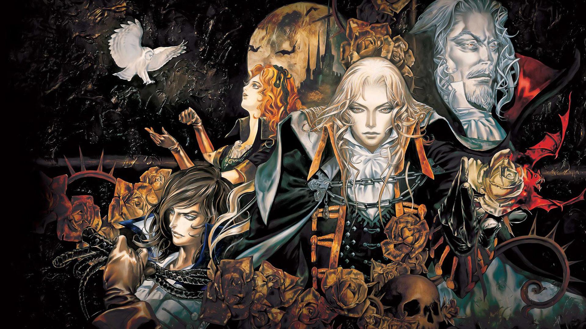 desktop wallpaper castlevania symphony of the night