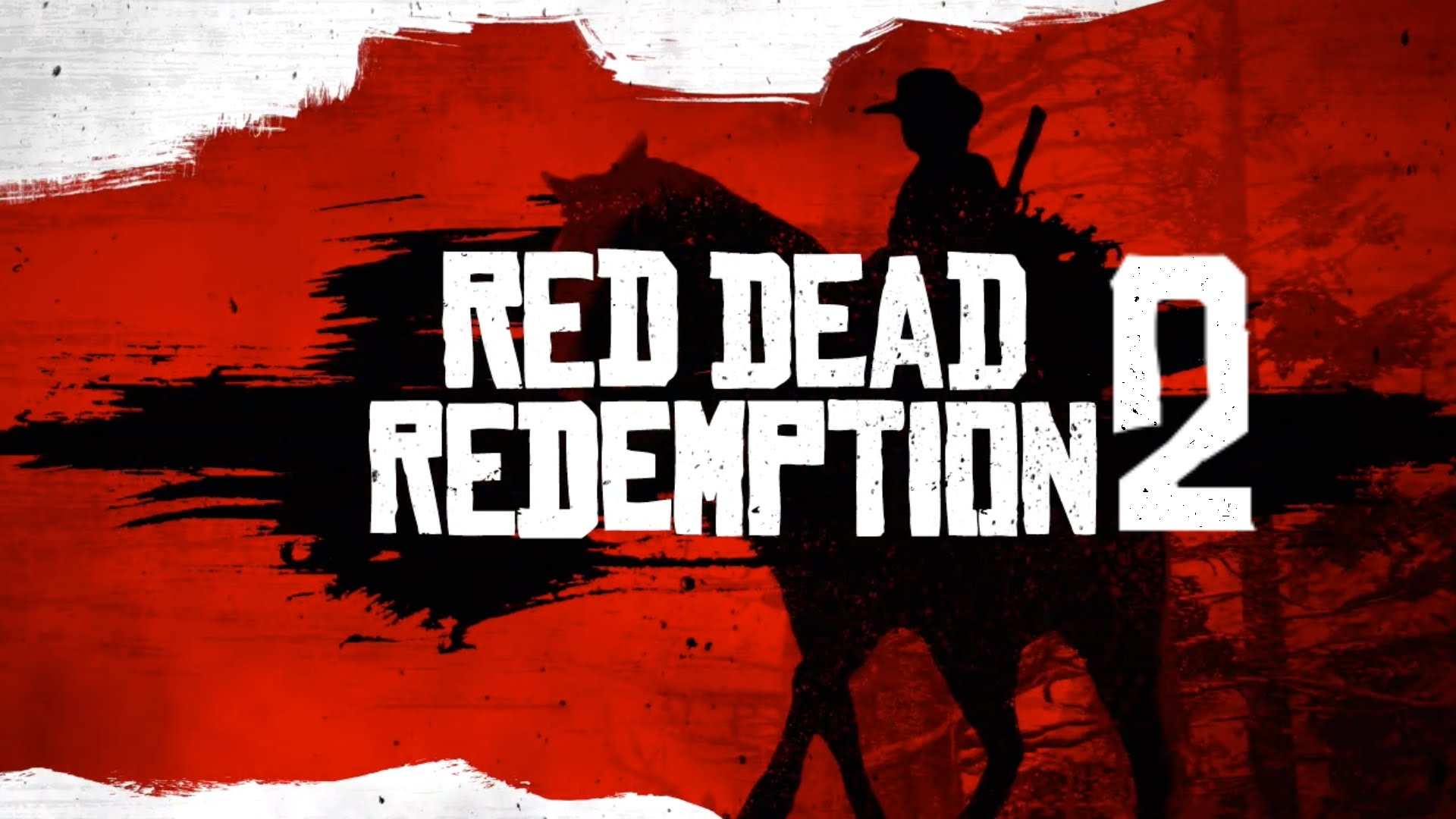 Red Dead Redemption 2, horse, riding, poster