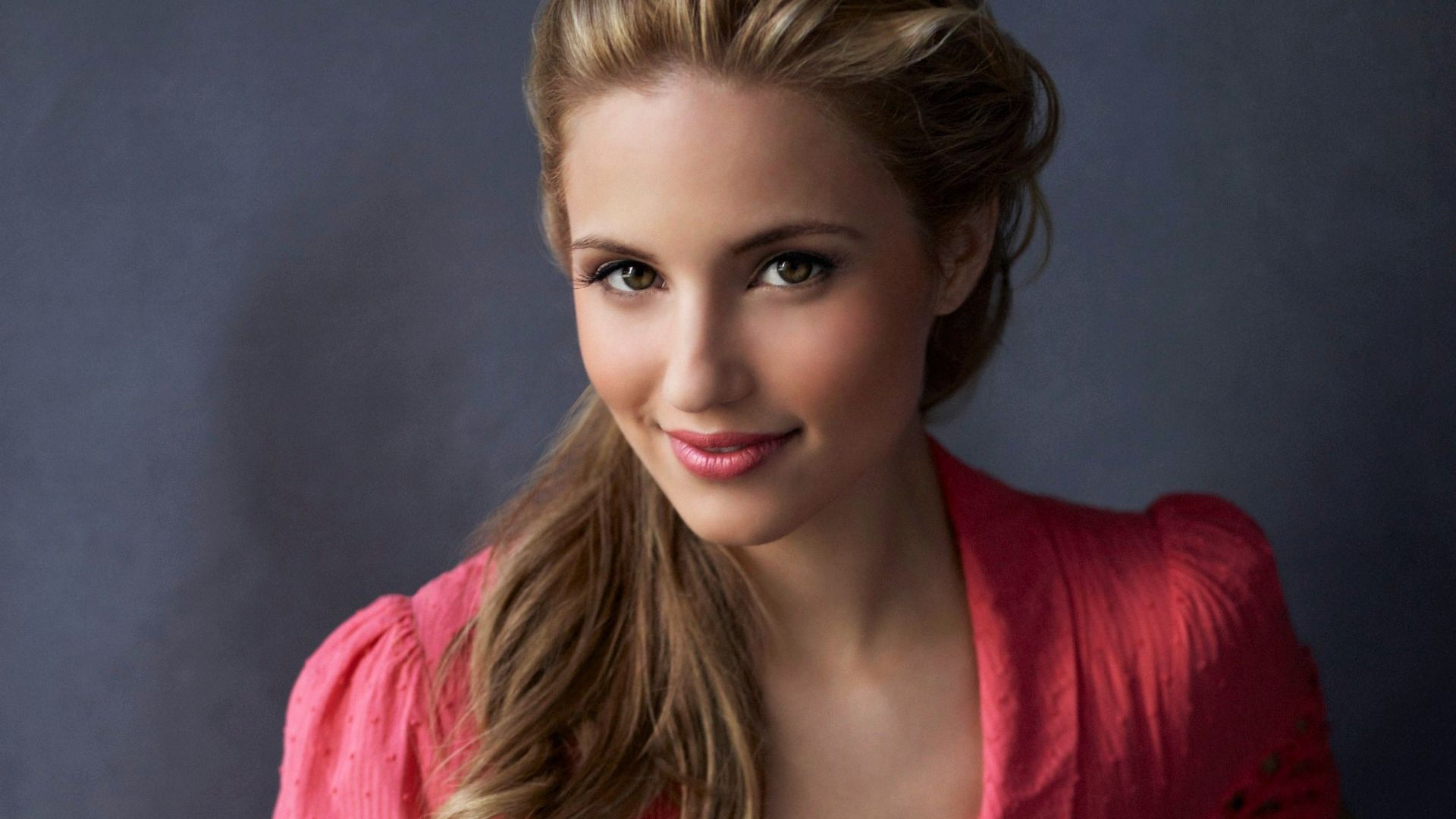 Wallpaper Dianna Agron, american beauty, smile