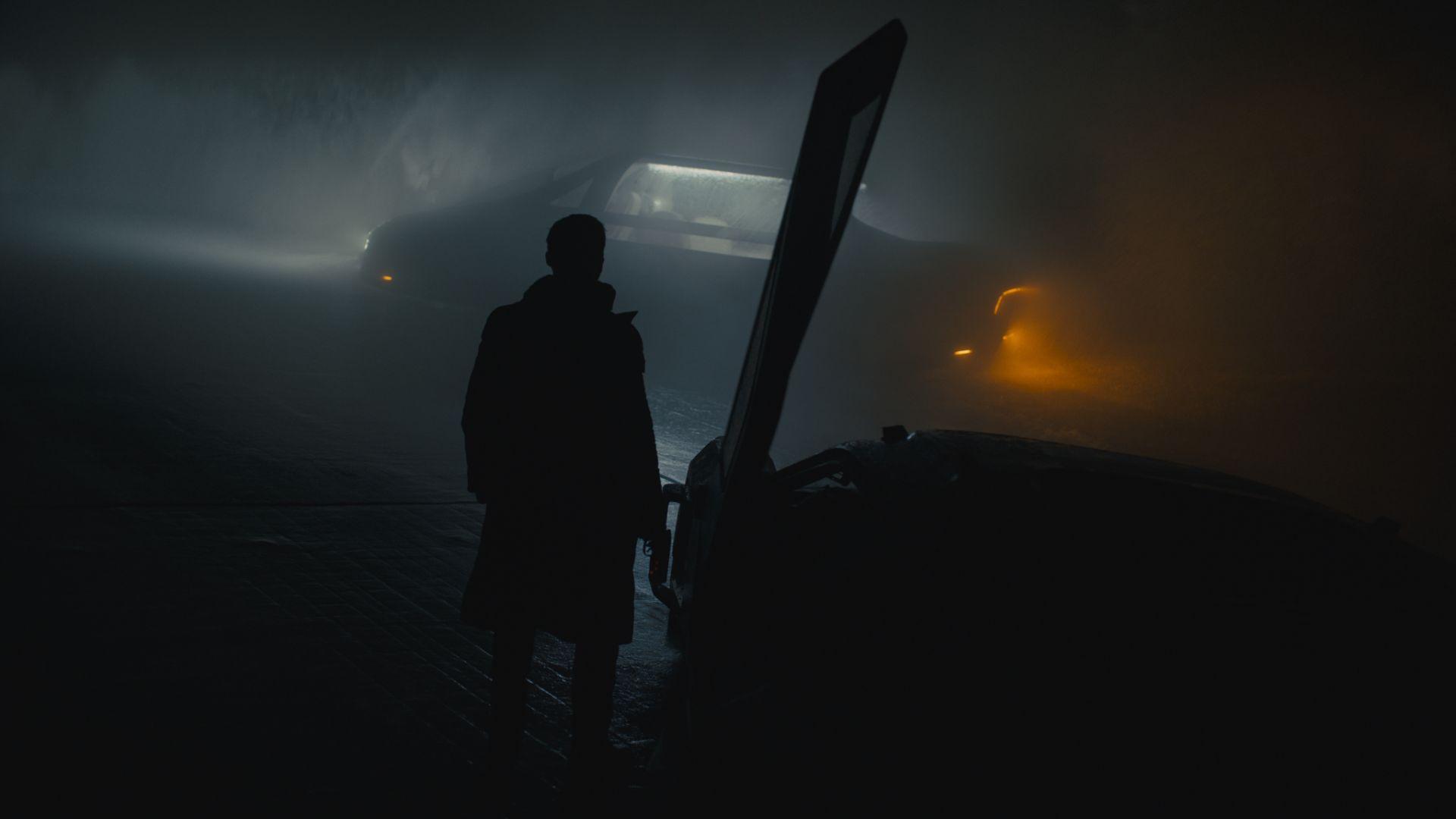 Wallpaper Blade runner 2049, ryan gosling, night, dark
