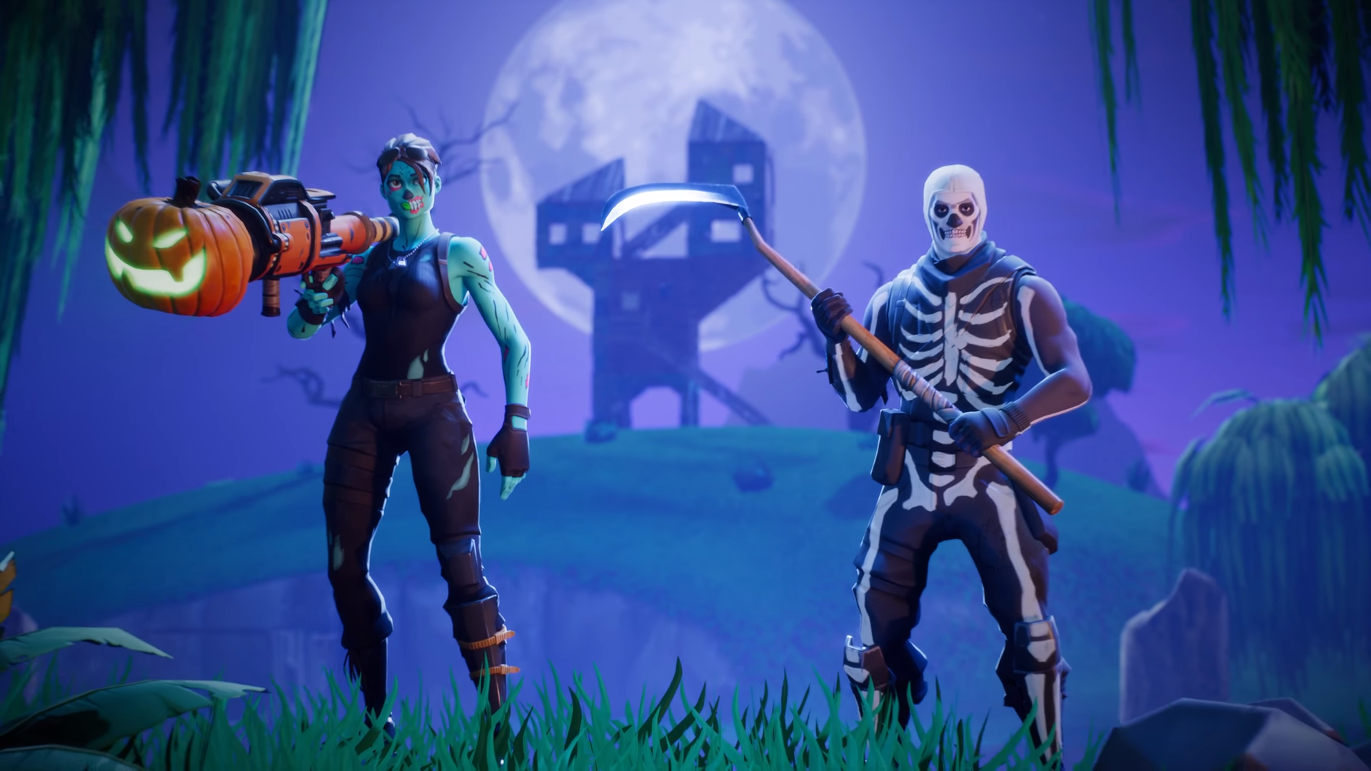 Desktop Wallpaper 2018 Video Game Fortnite Art Hd: Desktop Wallpaper Fortnite Battle Royale, Video Game