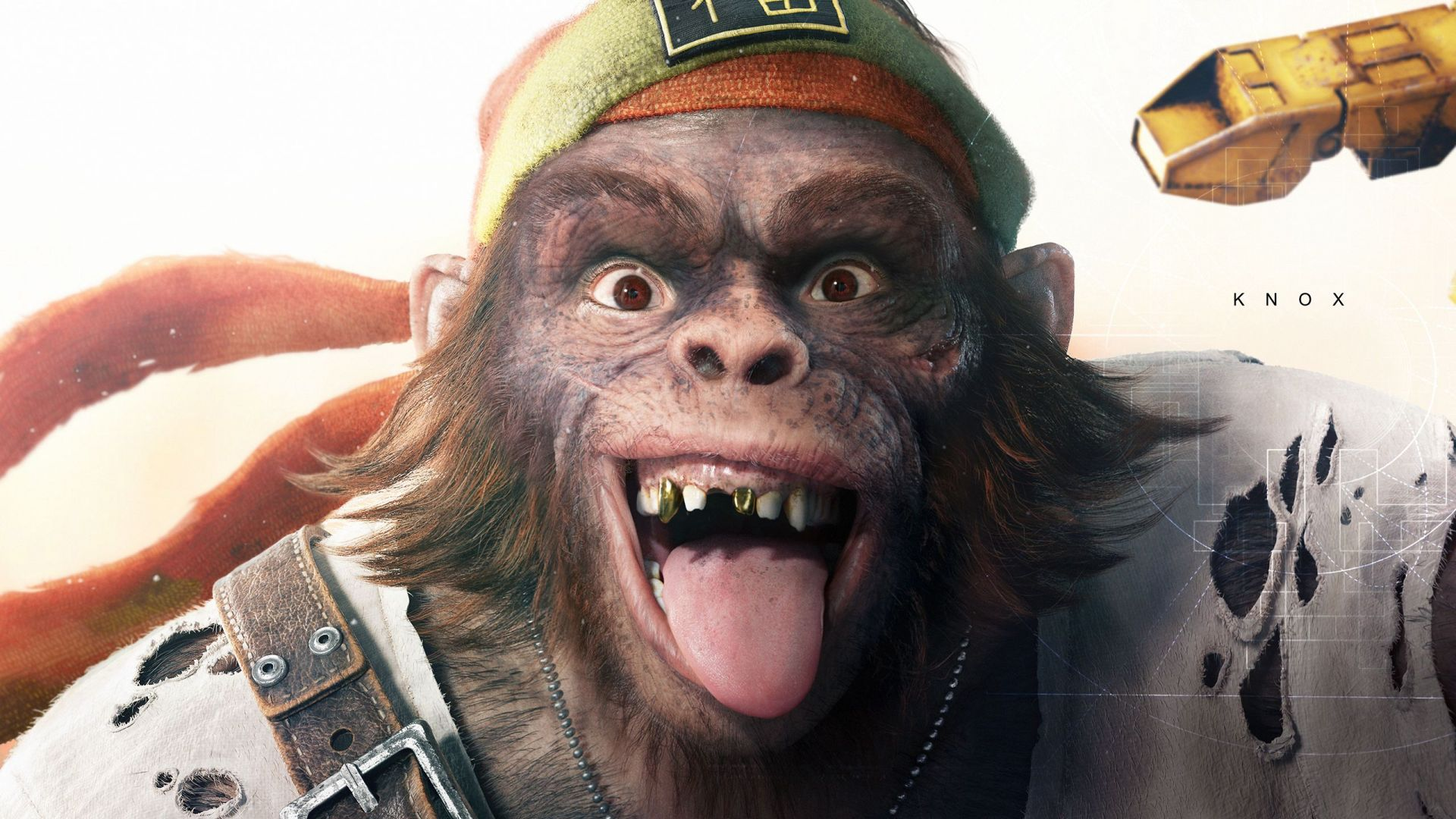 Wallpaper Beyond Good and Evil 2, video game, monkey face