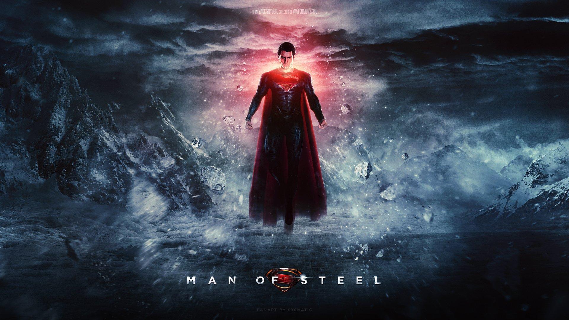 Wallpaper Man of steel, a super man movie