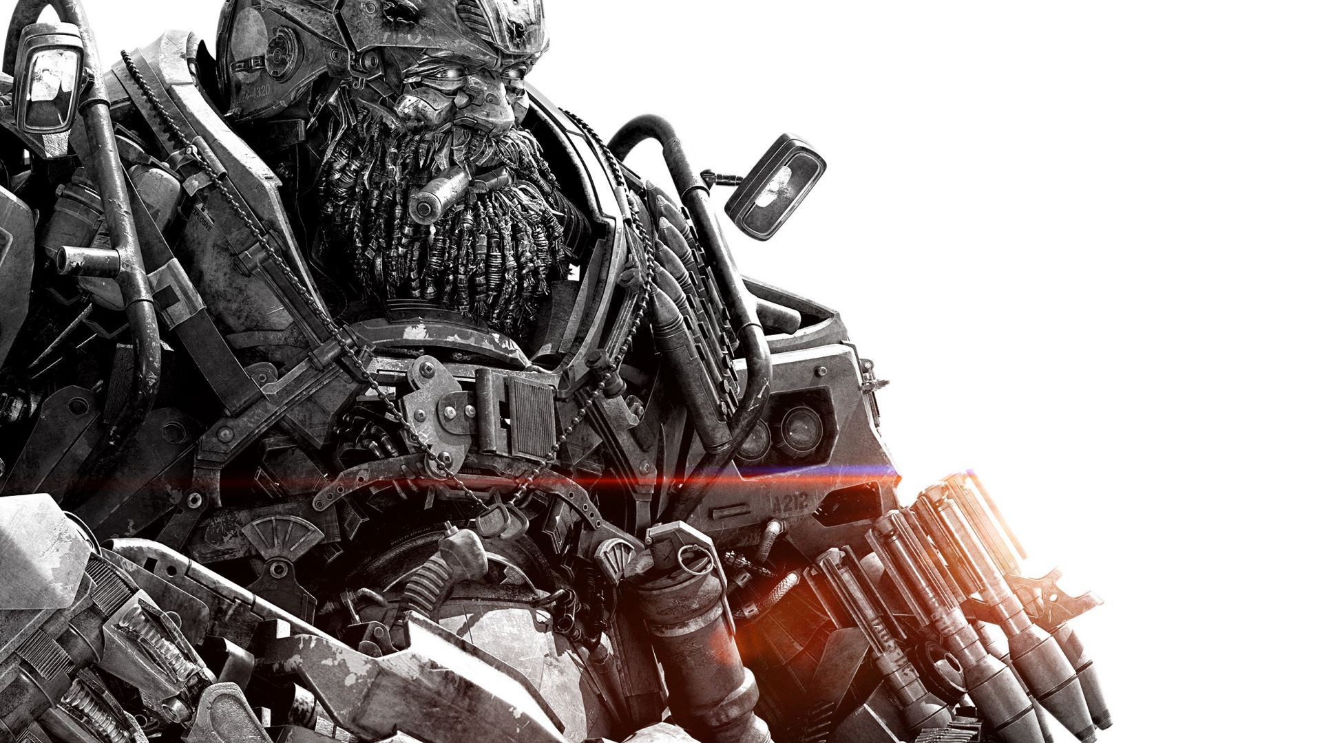 Wallpaper Transformers: The Last Knight, movie, Hound, cyborg