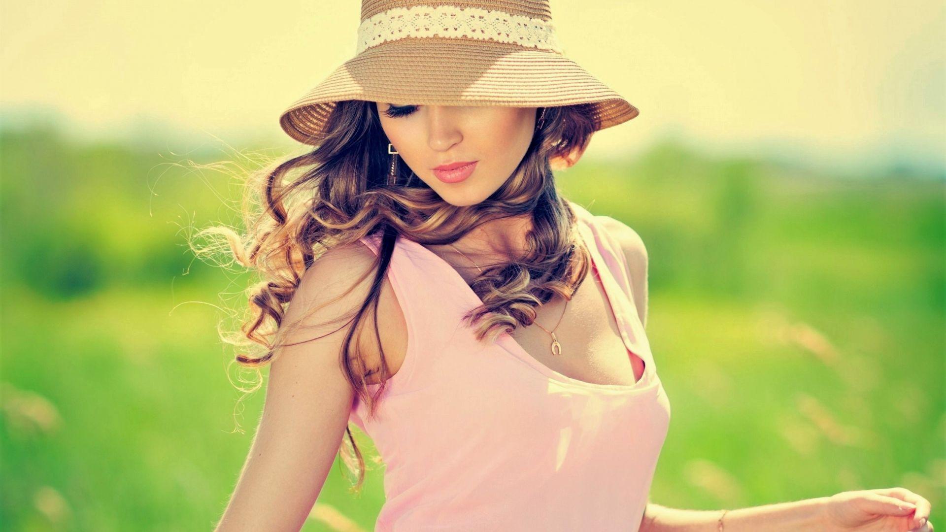 Wallpaper Summer, outdoor, girl model