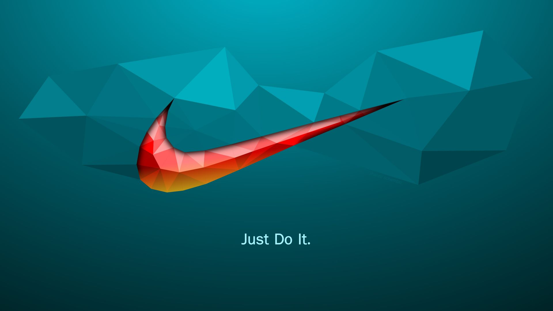 Wallpaper Just do it, quotes, Nike, logo, abstract