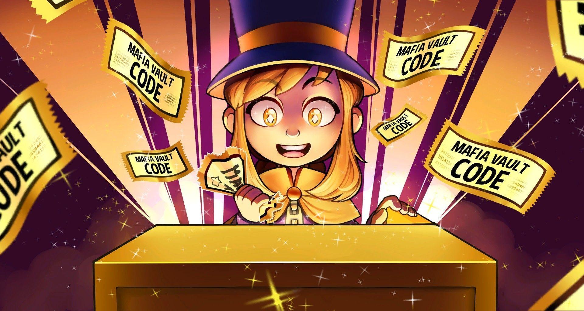 Desktop Wallpaper A Hat In Time, Vault, Happy Girl, Hd ...
