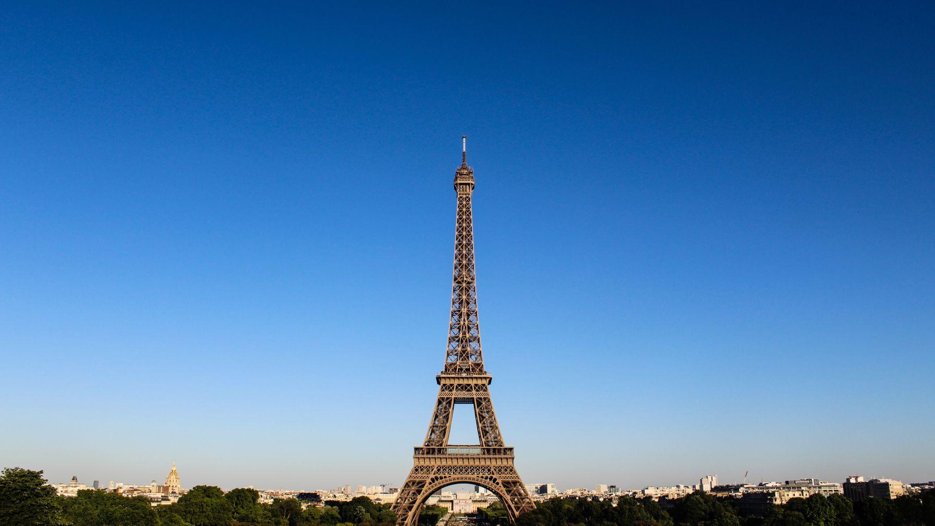 Wallpaper Eiffel tower, architecture, monument, Paris