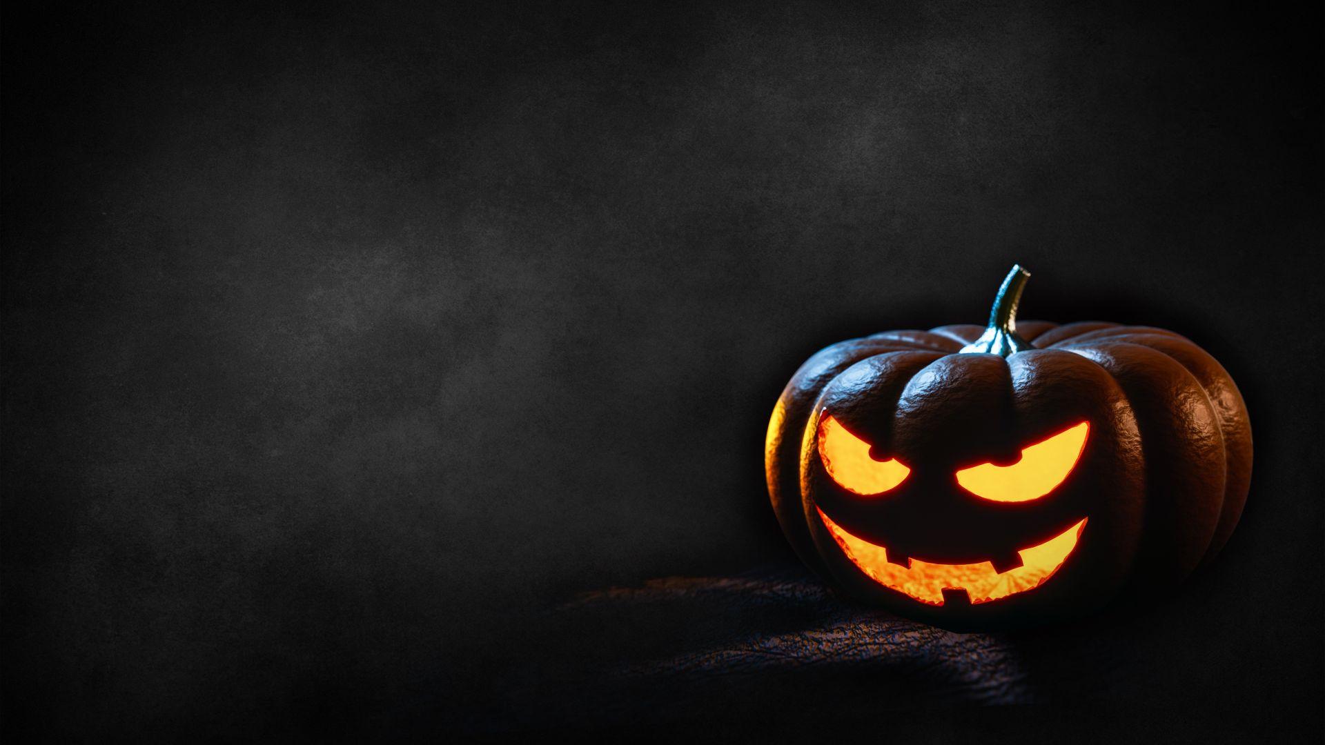 Wallpaper Happy Halloween pumpkin