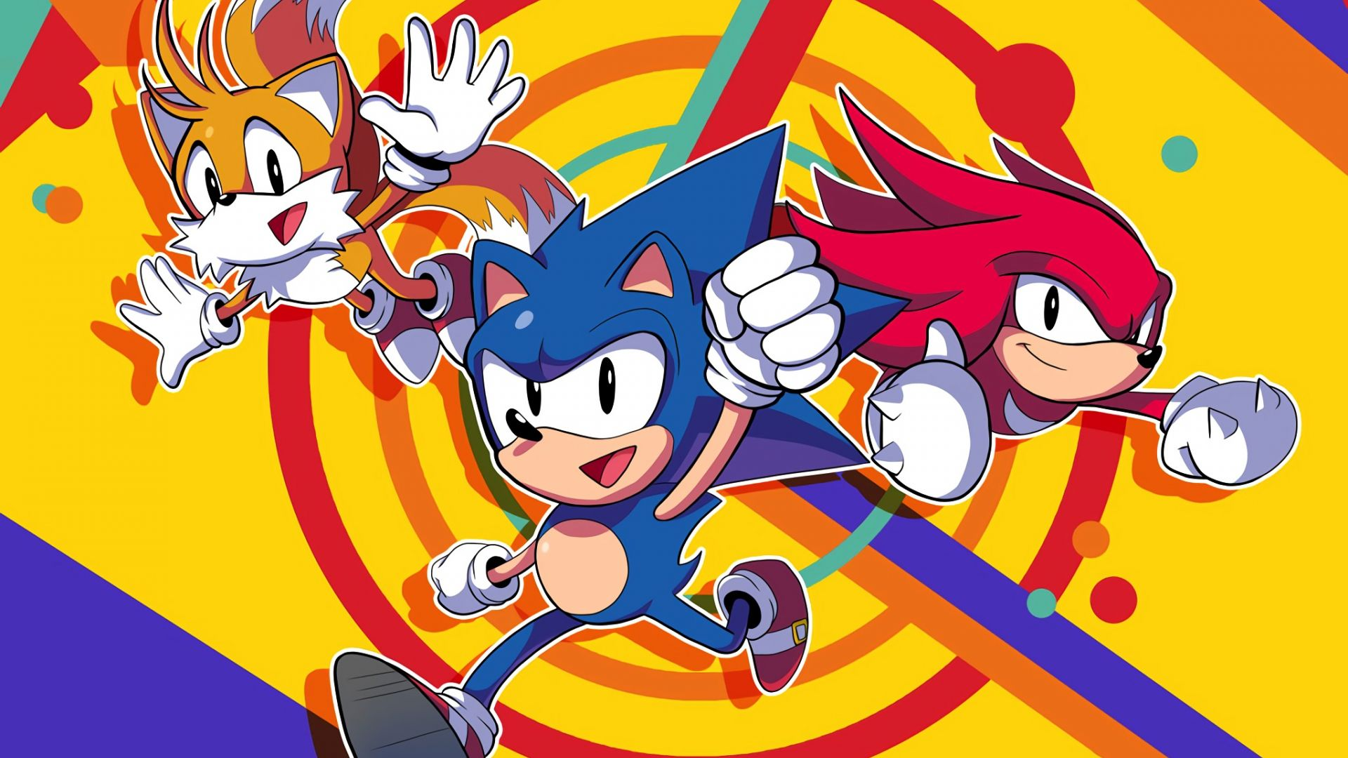 Desktop Wallpaper Sonic Mania, Fun, Video Game, Hd Image ...