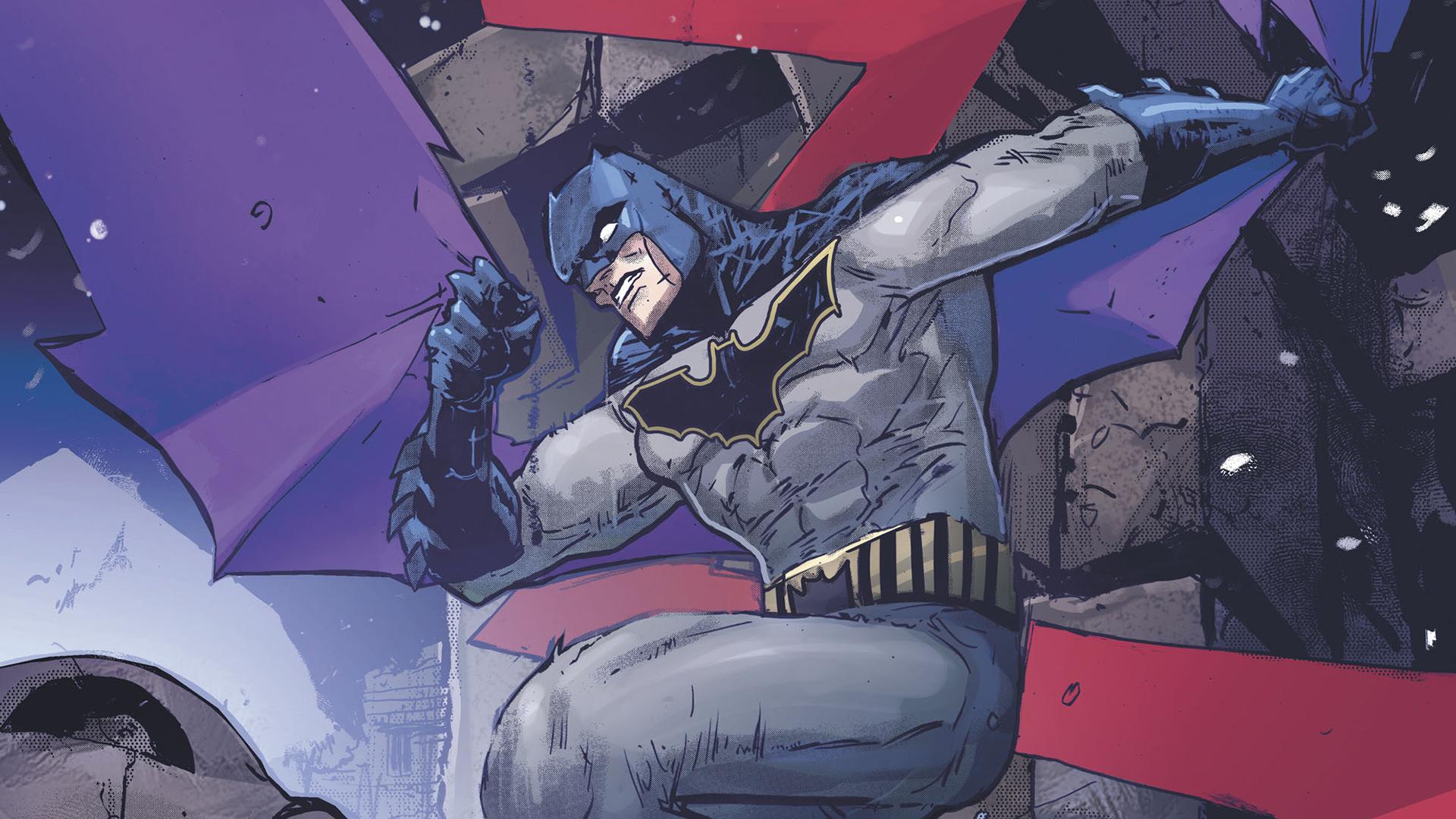 Wallpaper Batman, comics, jump