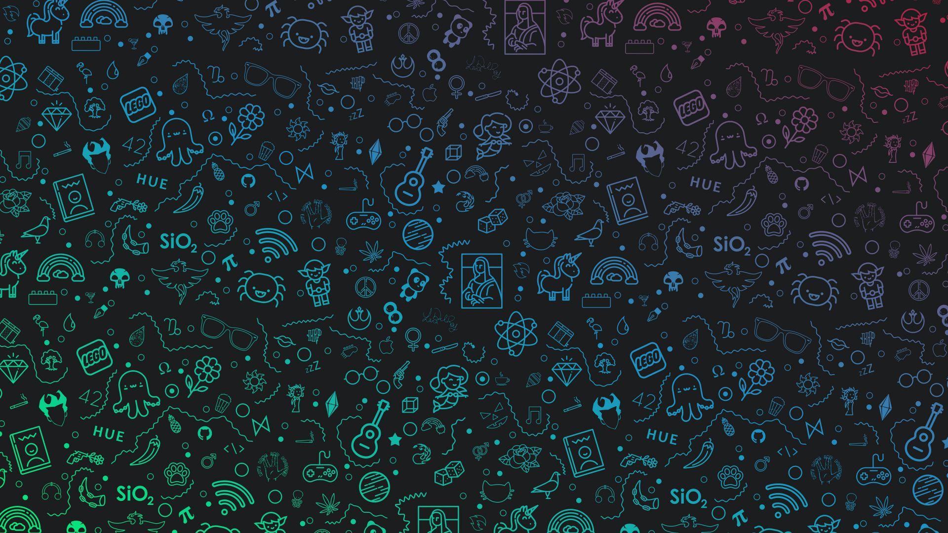 Desktop Wallpaper Shapes Pattern Geometry Abstract