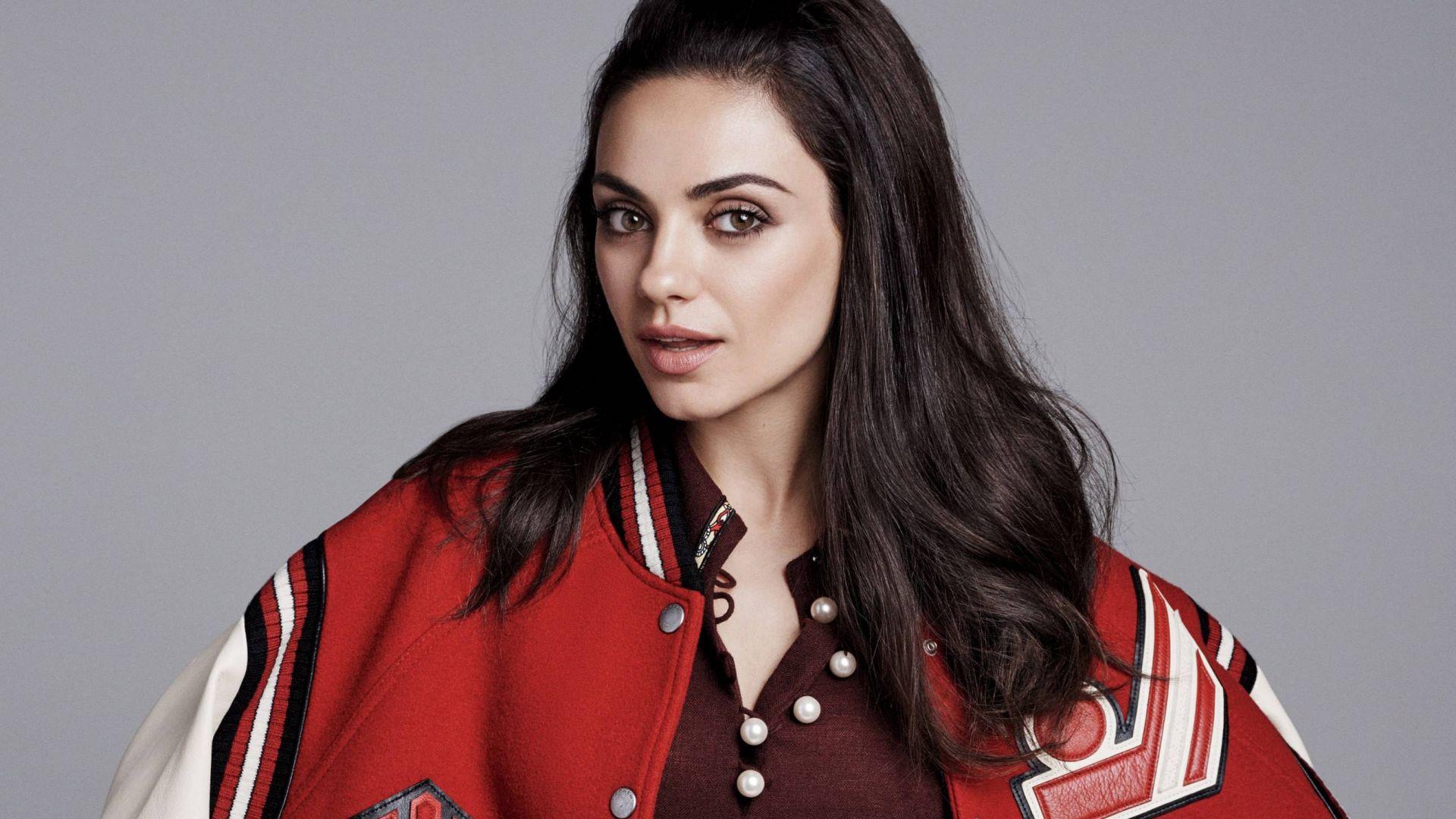 Wallpaper Mila kunis, beautiful actress, 2017