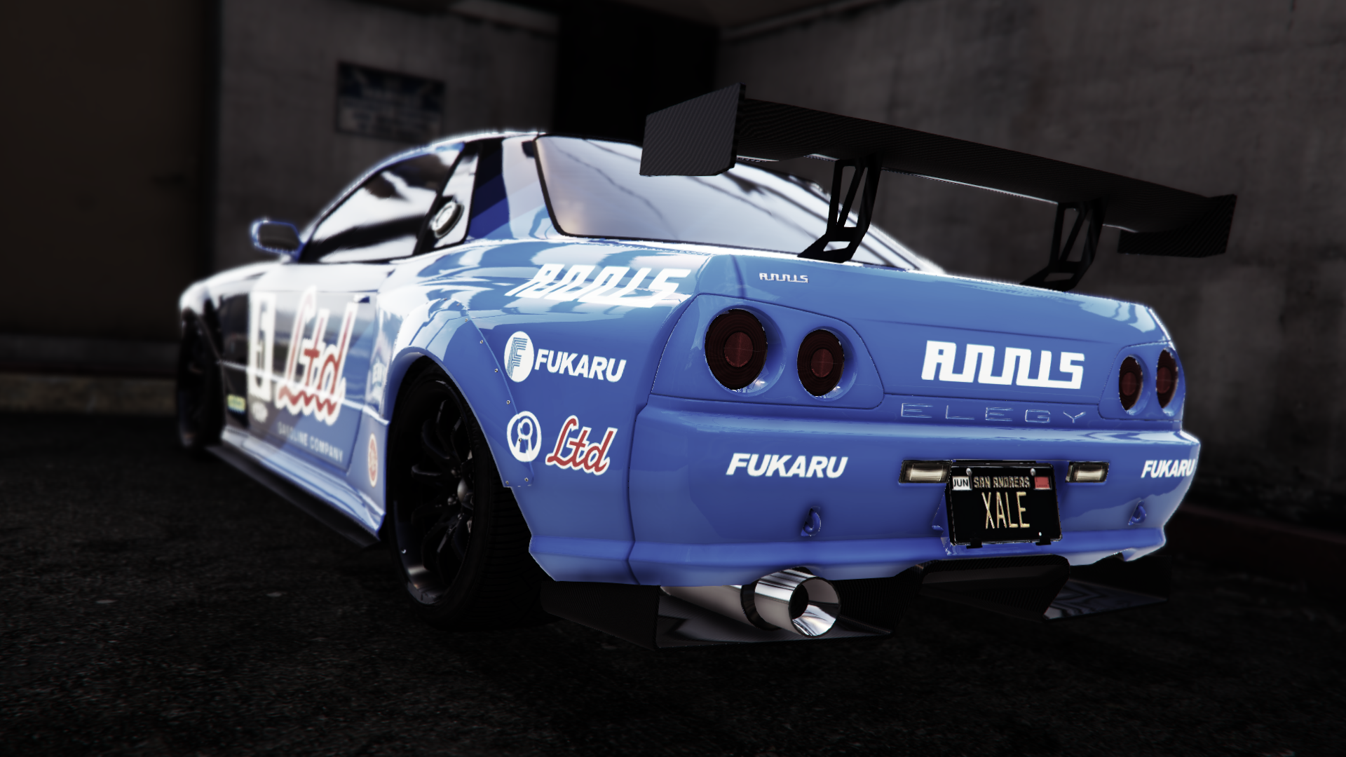 Nissan Skyline R32 From GTA V Video Game Wallpaper