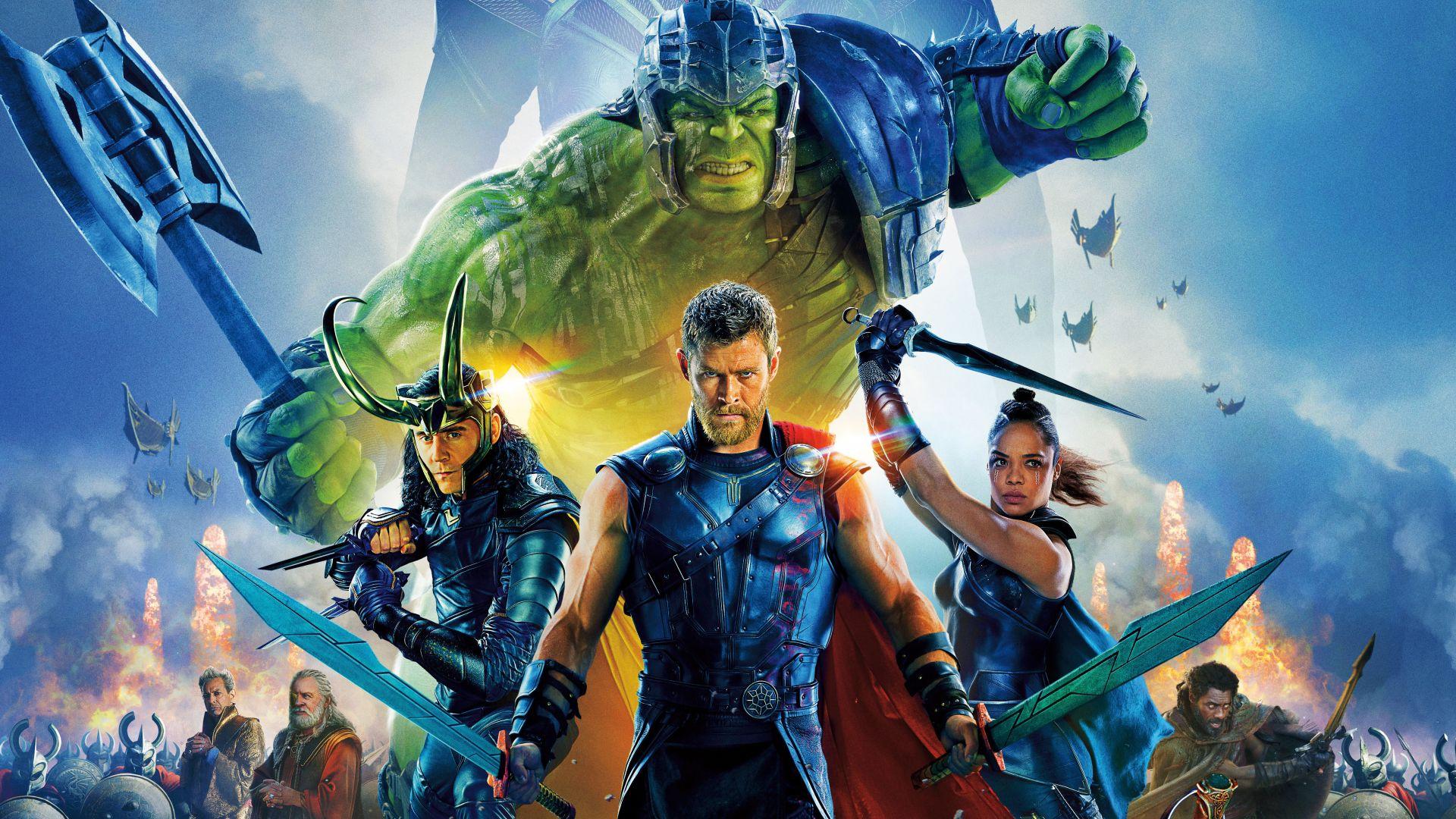 Wallpaper Thor: ragnarok, movie, poster, cast, 4k, 2017