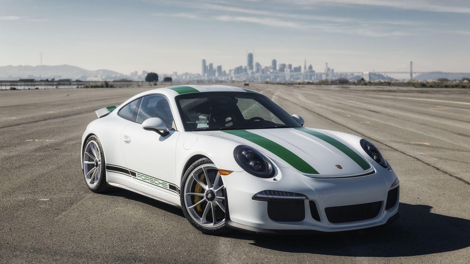 Porsche 911, Sports White Car, 5k Wallpaper