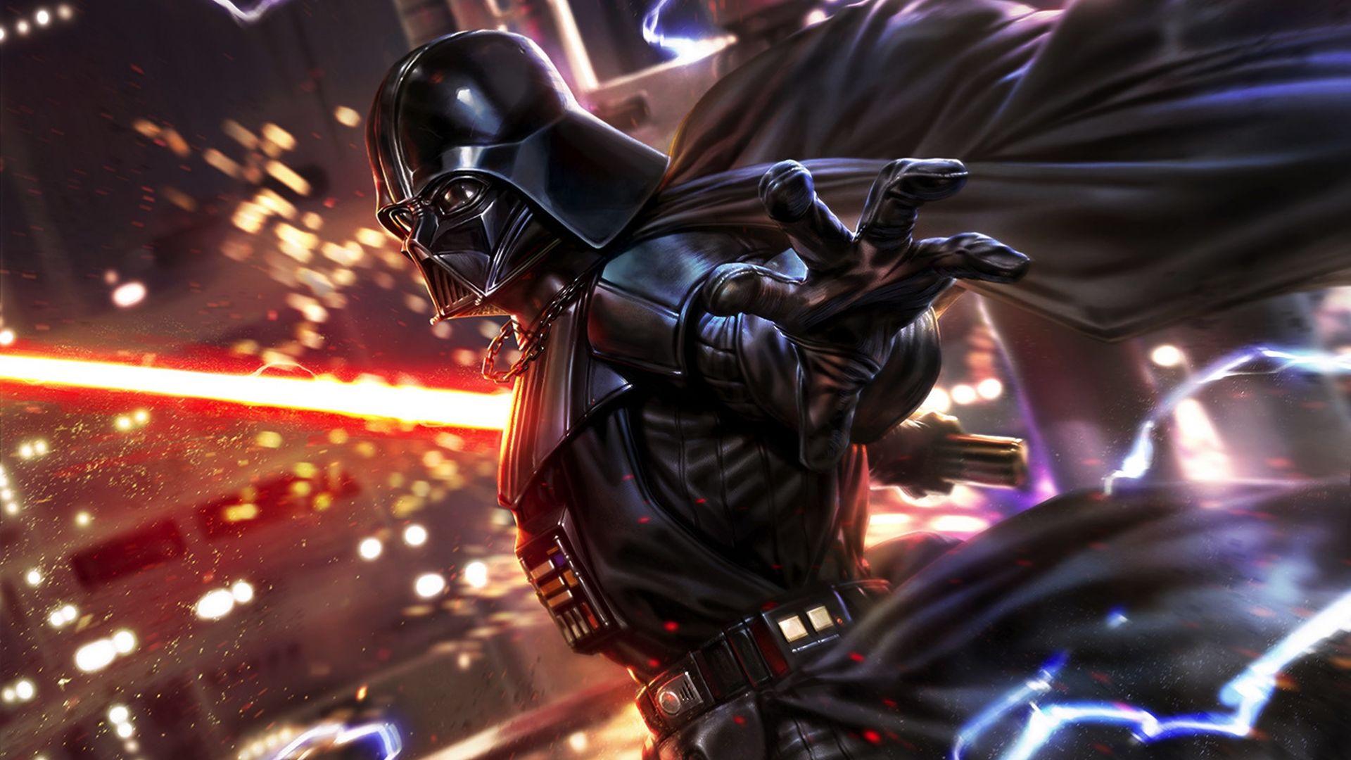 fan art star wars darth vader