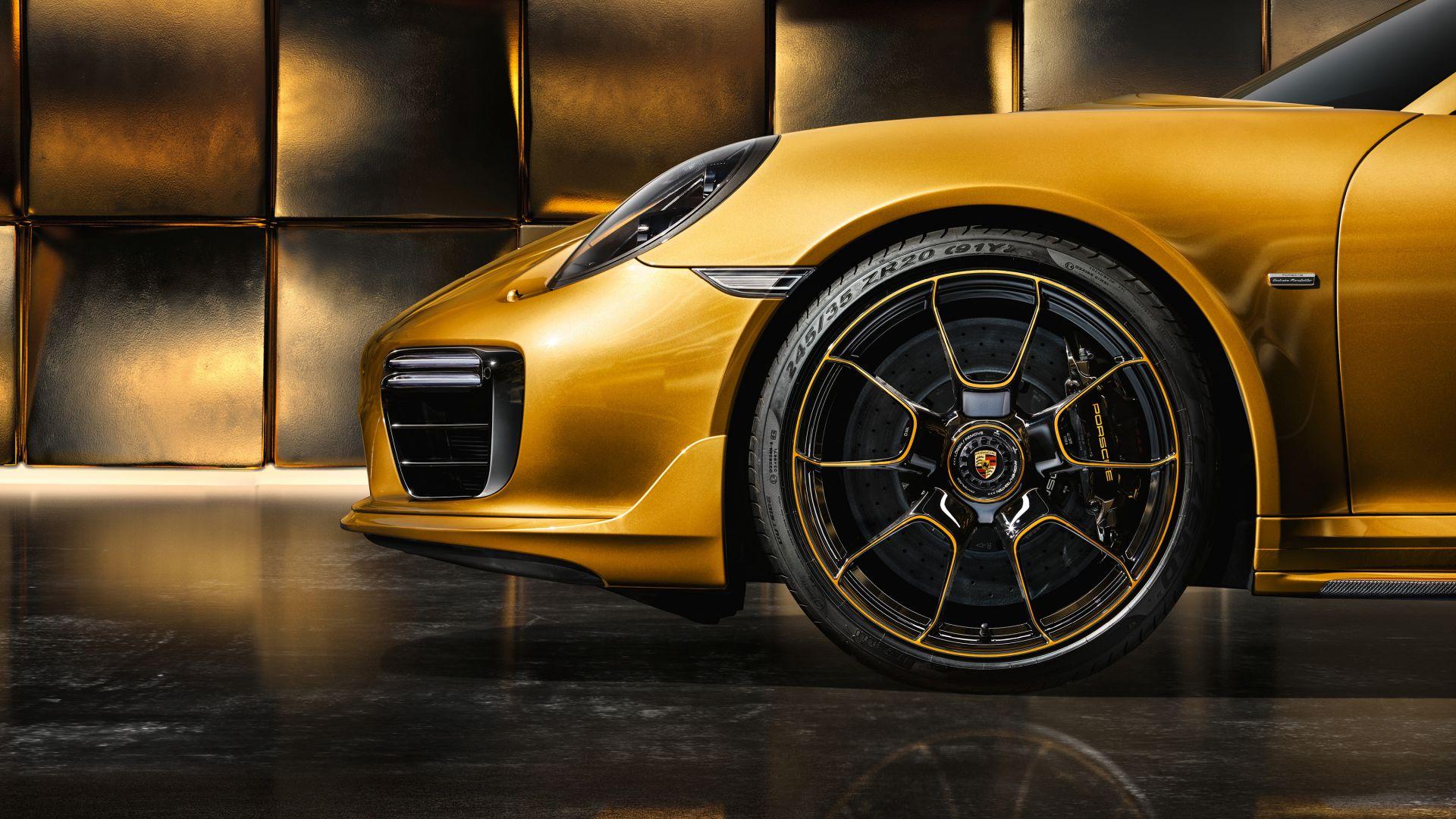 Porsche, Exclusive Series, Porsche 911 Turbo, Car, Wheel Wallpaper