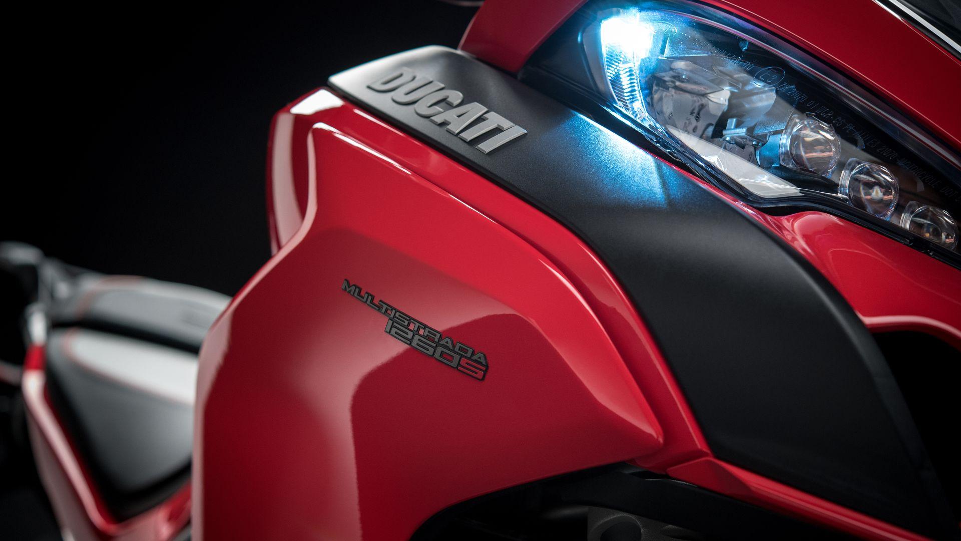 Wallpaper 2018 Ducati Multistrada 1260, headlight, 4k