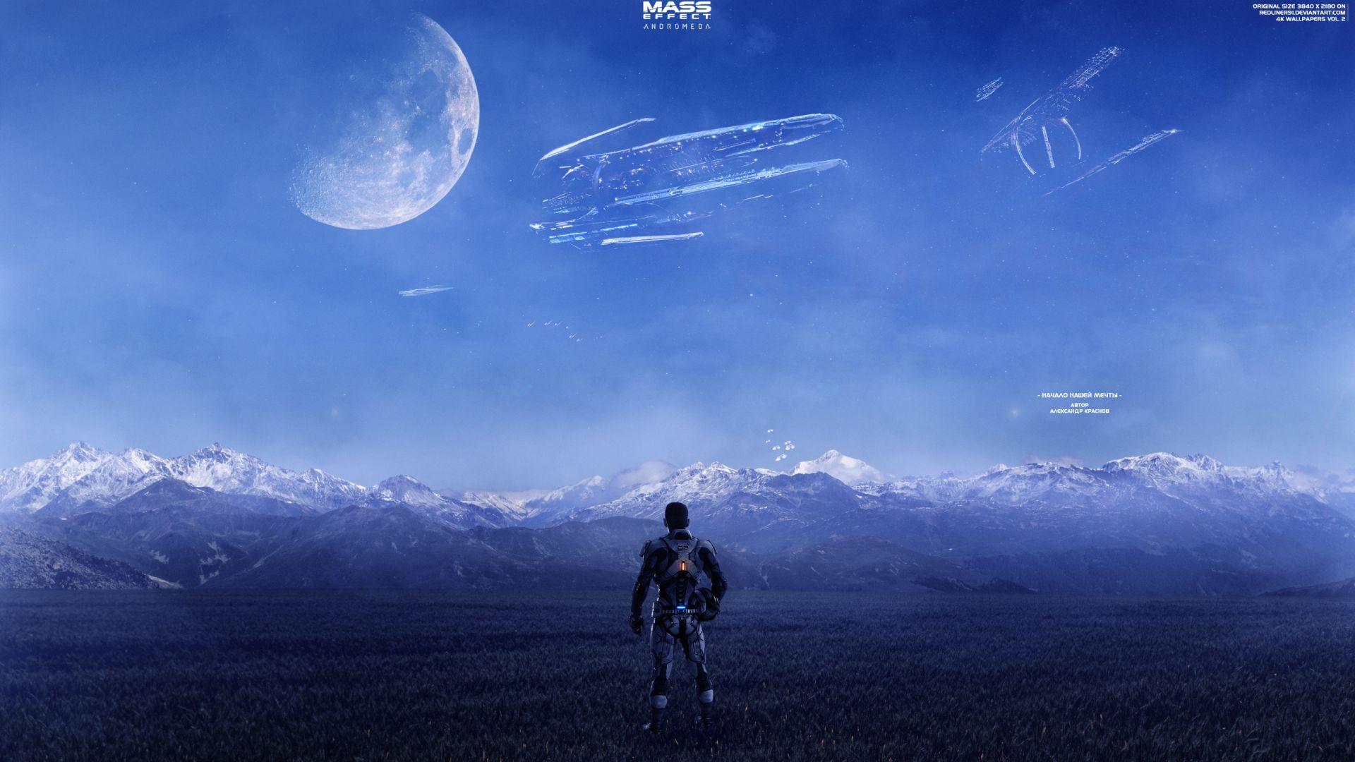 Mass Effect Andromeda Wallpaper Iphone: Desktop Wallpaper Mass Effect: Andromeda, Space, Planet