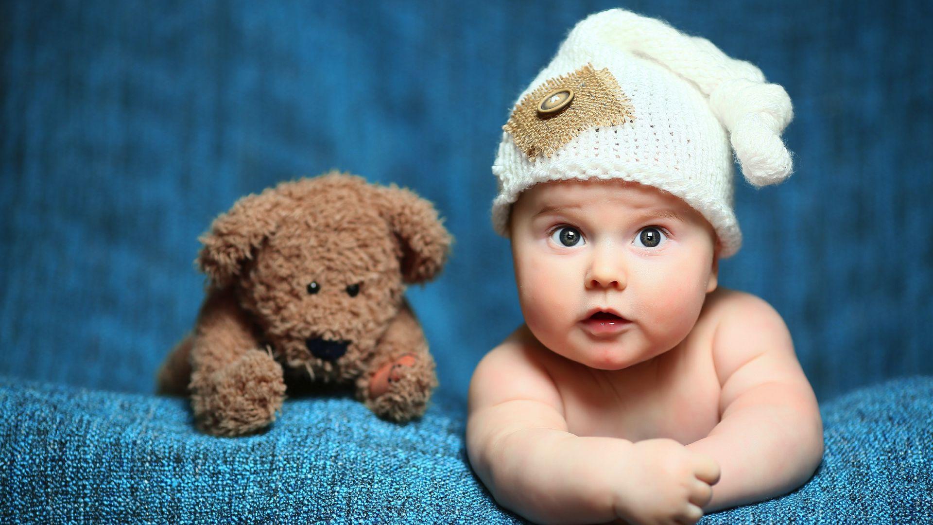 Desktop Wallpaper Cute Baby Kid Teddy Bear 4k Hd Image Picture Background A8b068