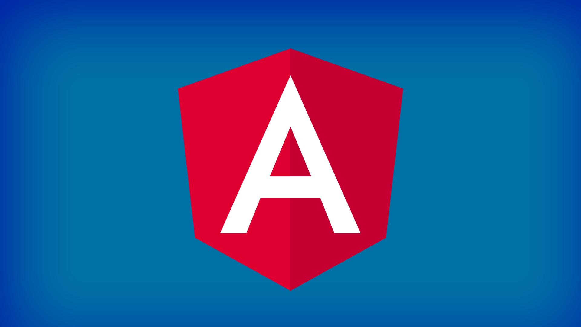 Wallpaper AngularJS logo