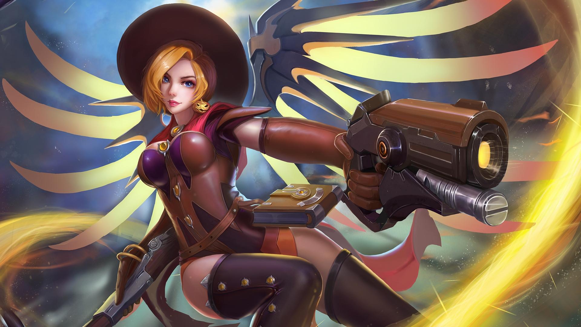 mercy overwatch gun