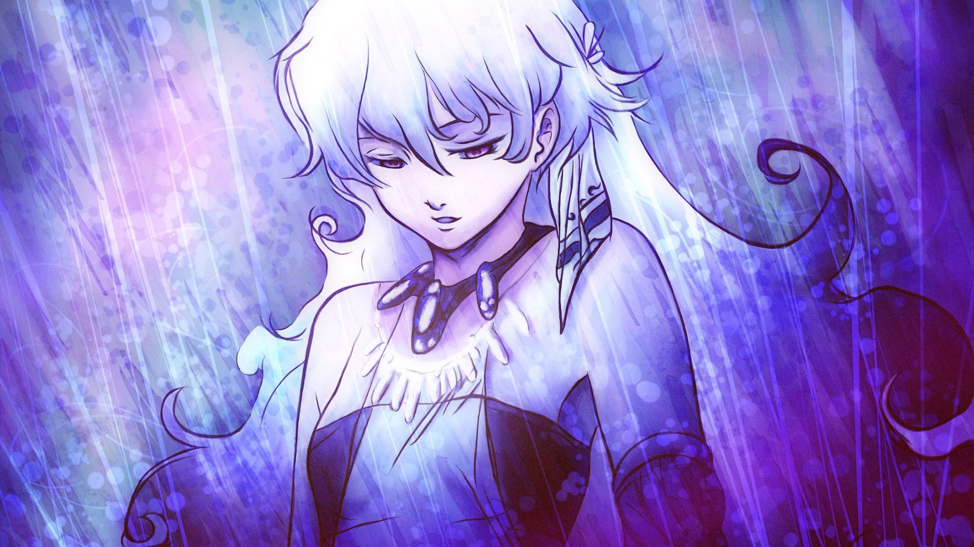Wallpaper Beautiful, Yoko Littner, white hair anime girl, anime