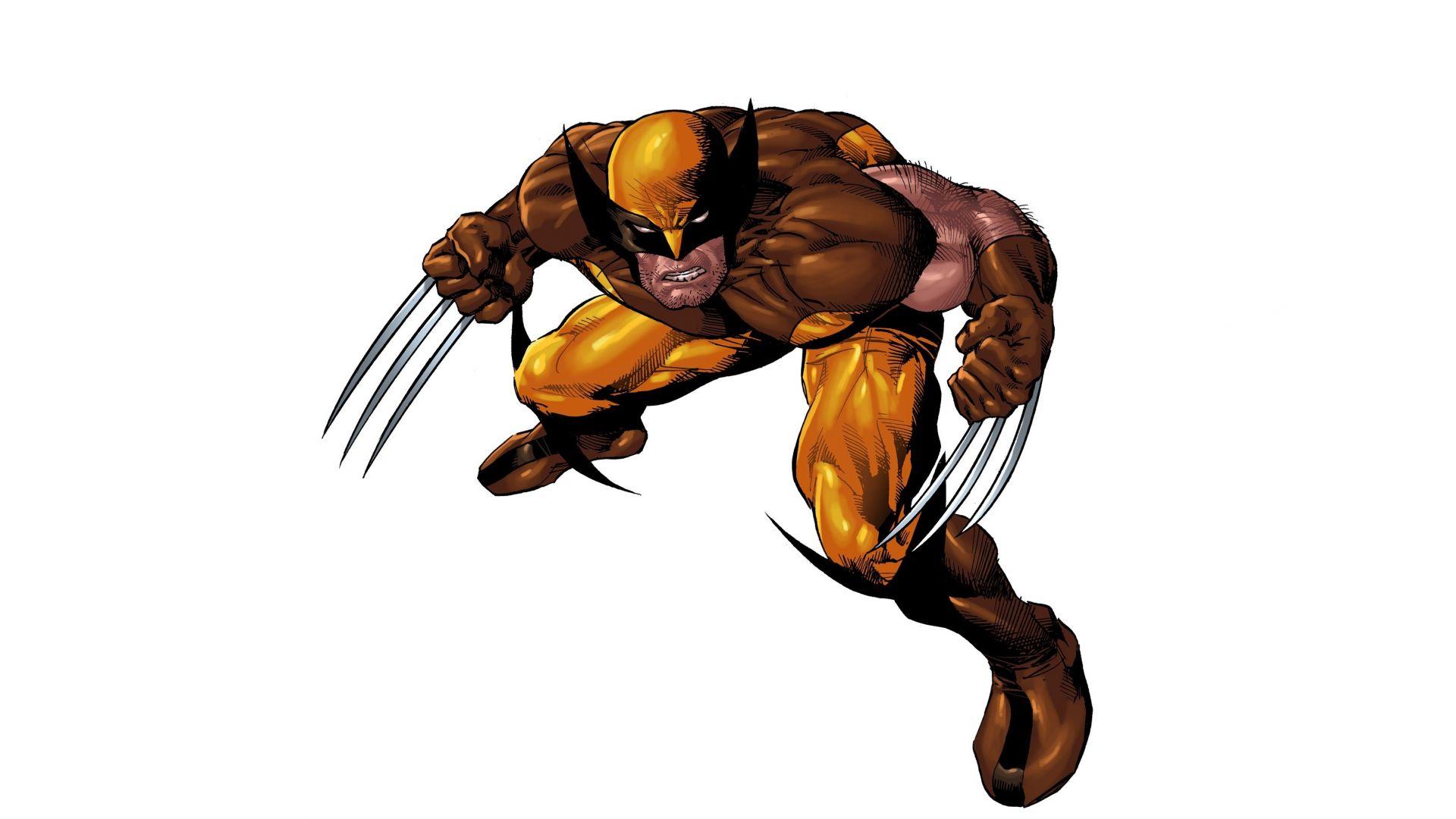 Wallpaper Wolverine, x-men, minimal, superhero