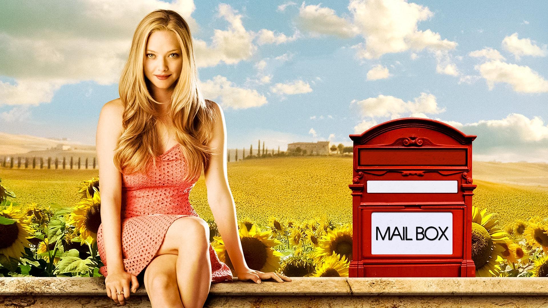 Wallpaper Letters to Juliet, Amanda Seyfried, 2010 movie, actress