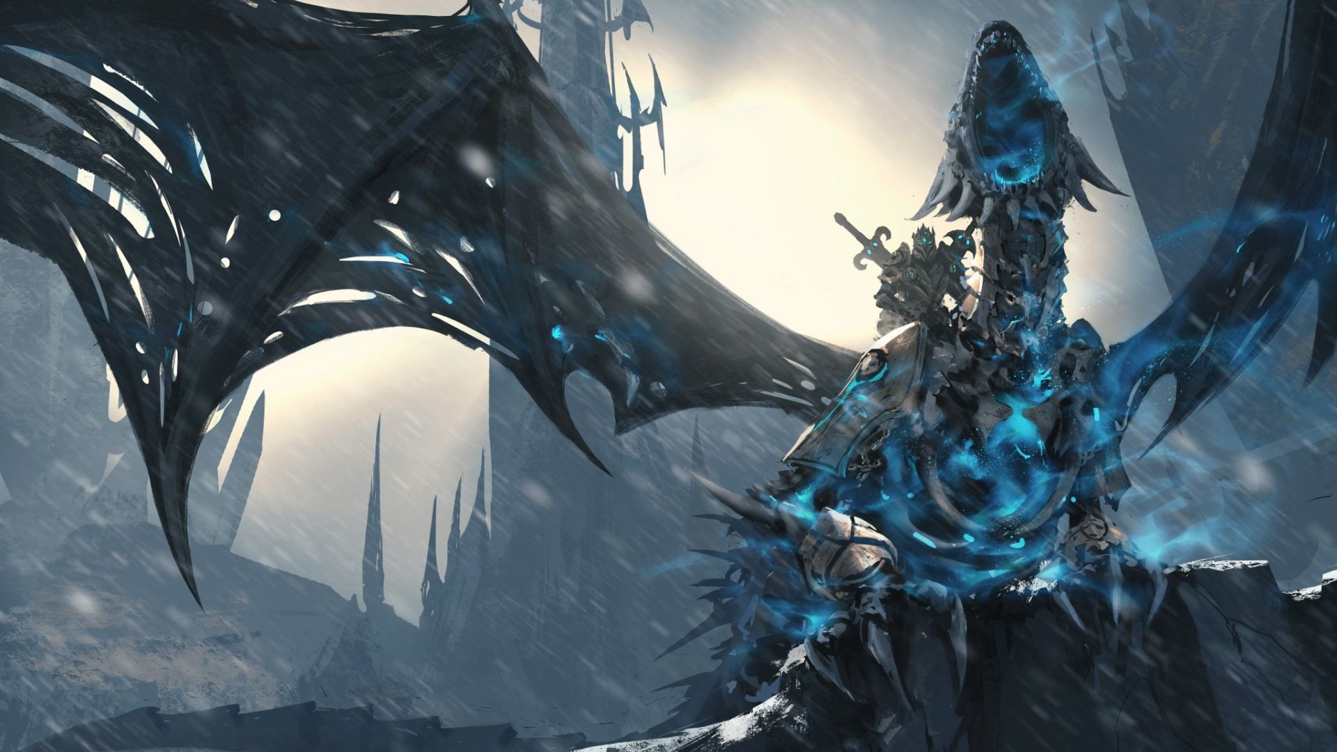 Downaload Overlord King And Warriors Art Wallpaper: Desktop Wallpaper World Of Warcraft: Wrath Of The Lich