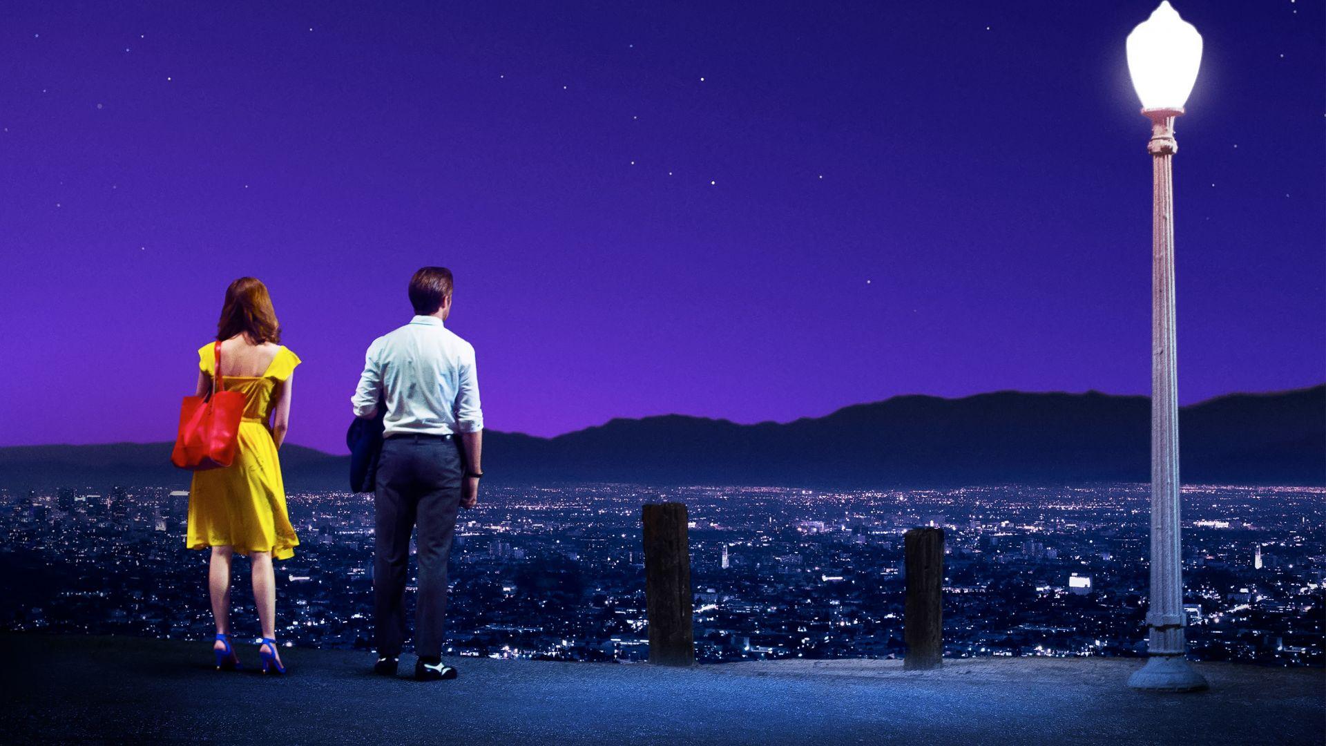 Wallpaper La la land movie, 2016 movie