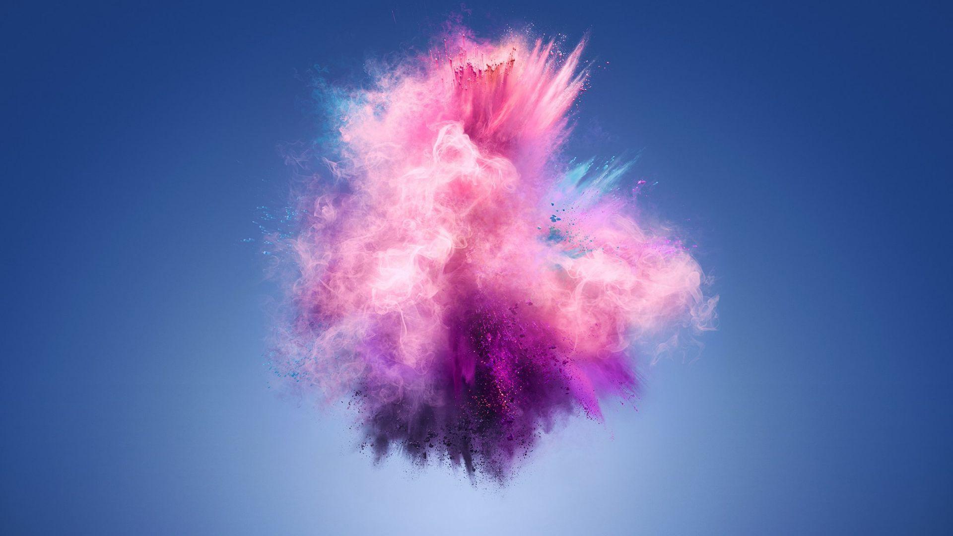 Huawei Laptop Wallpapers: Desktop Wallpaper Color Splash, Explosion, Huawei 7s