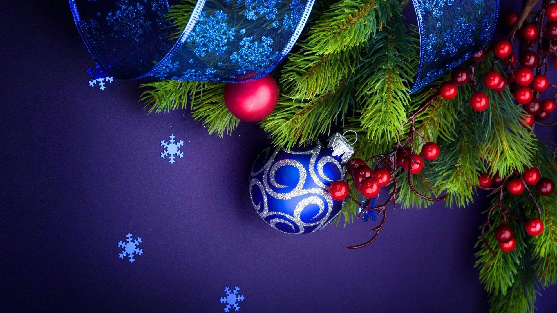 Wallpaper Christmas ornaments, Xmas decorations