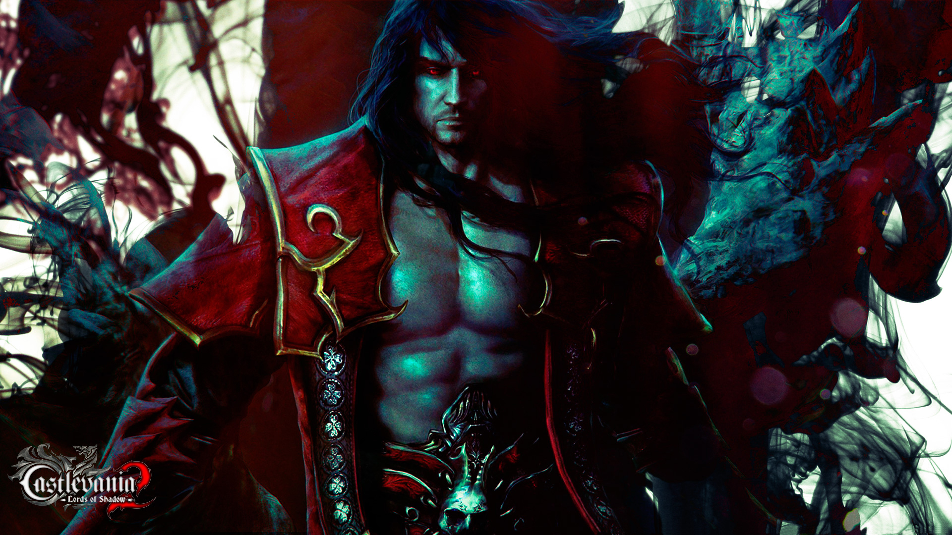 Wallpaper Castlevania: Lords of Shadow 2, video game, warrior