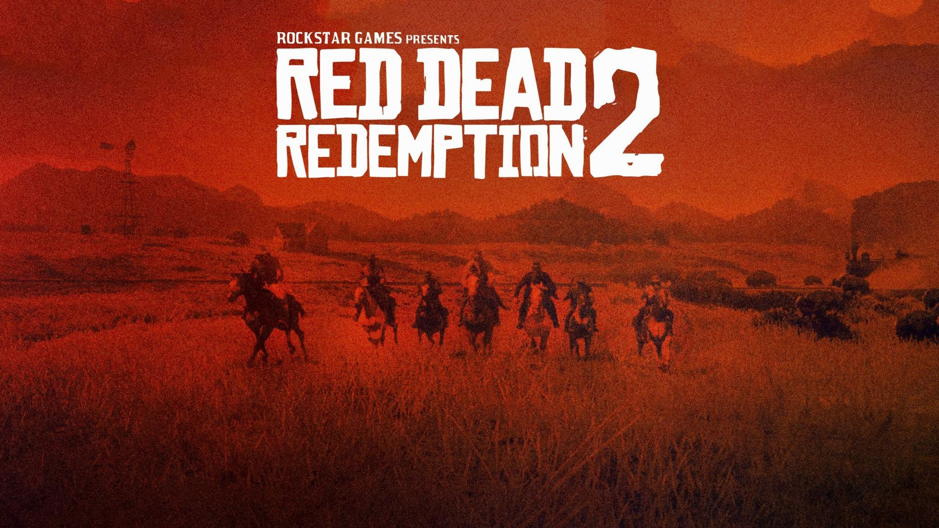Red Dead Redemption 2, video game, poster