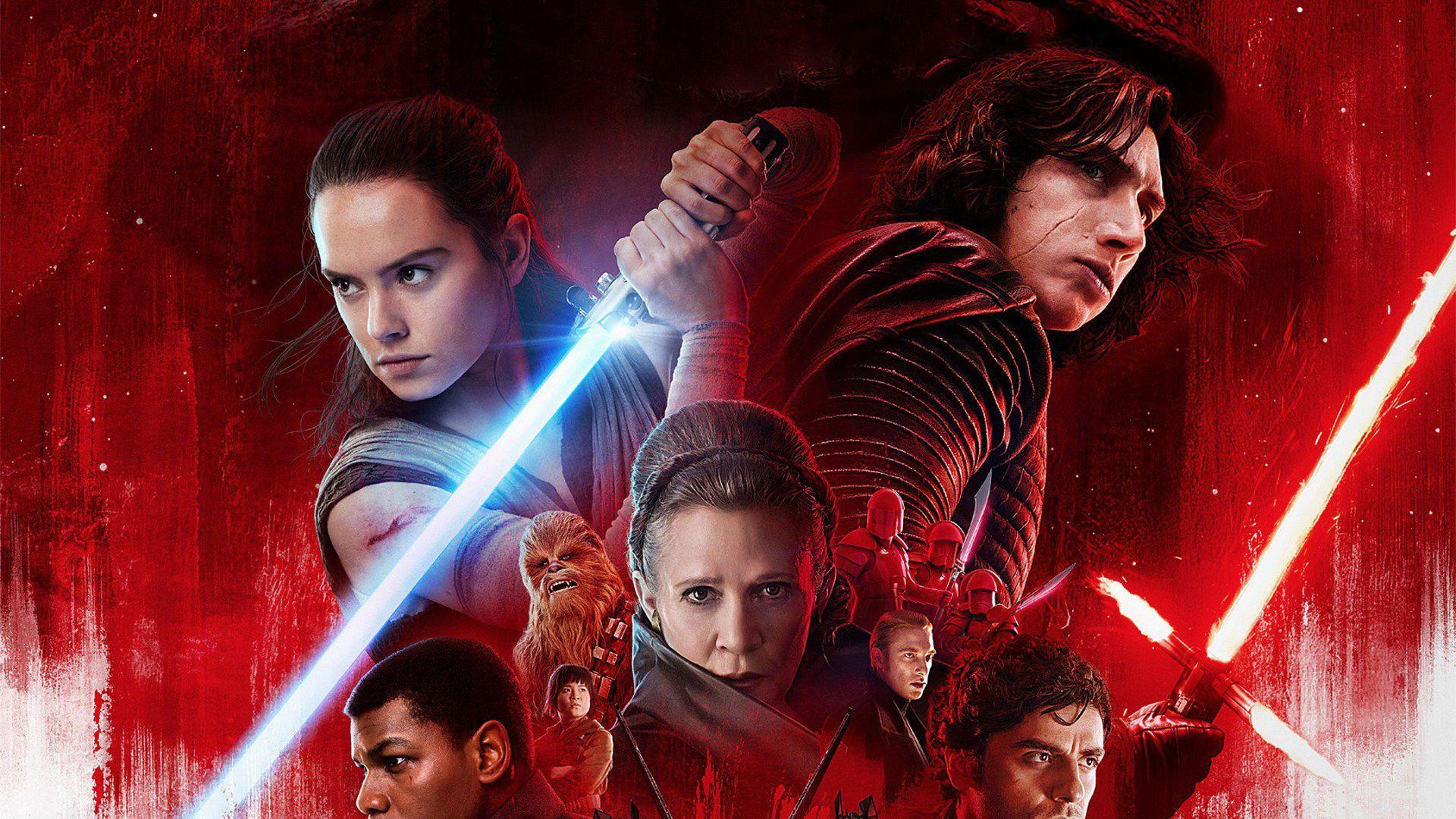 Wallpaper movie, poster, Star Wars: The Last Jedi