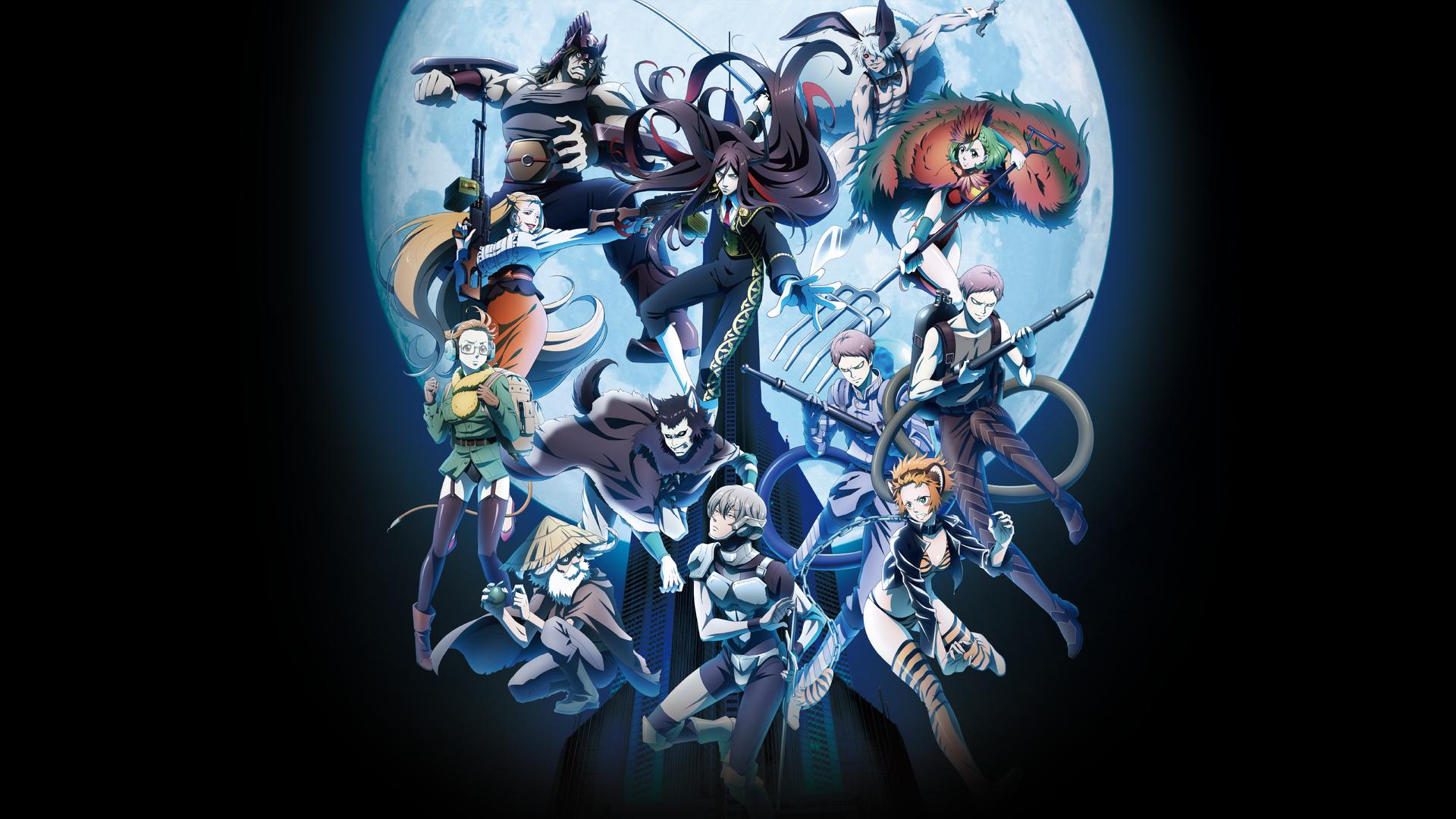 Wallpaper Juuni Taisen, anime, characters
