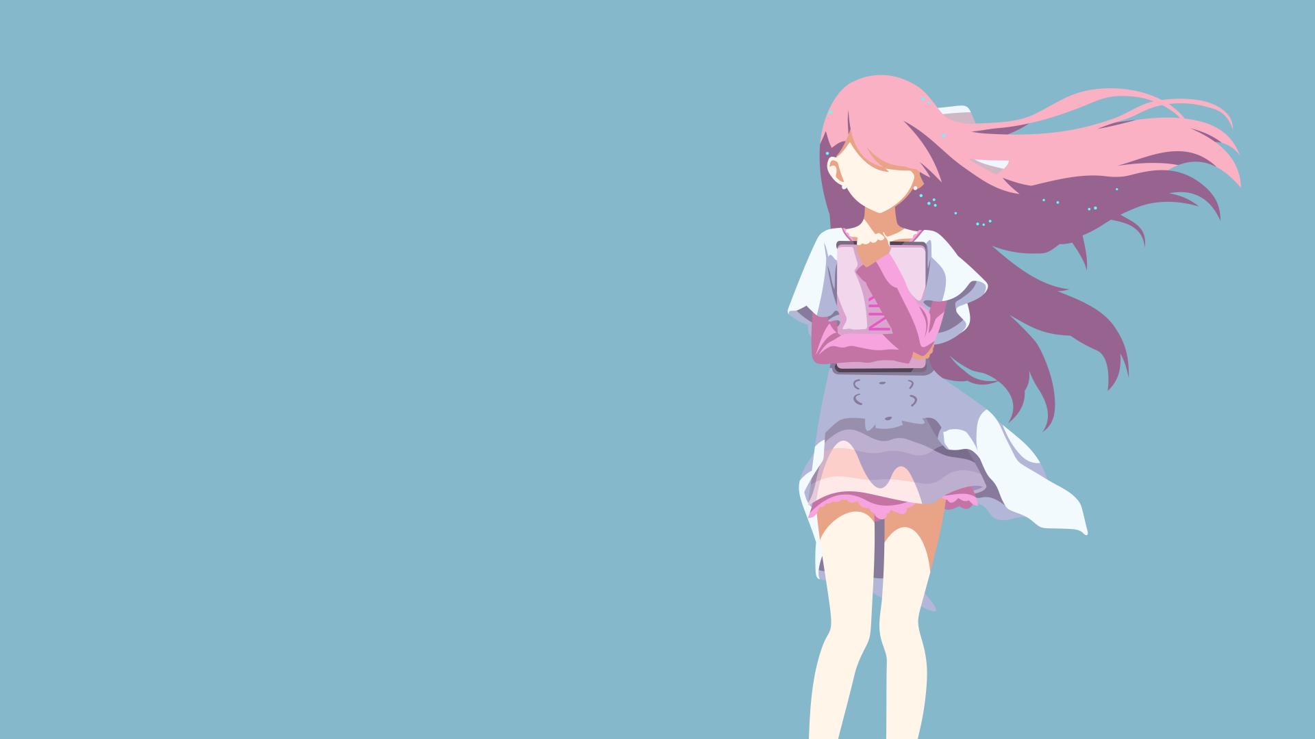 Wallpaper Rin from shelter anime