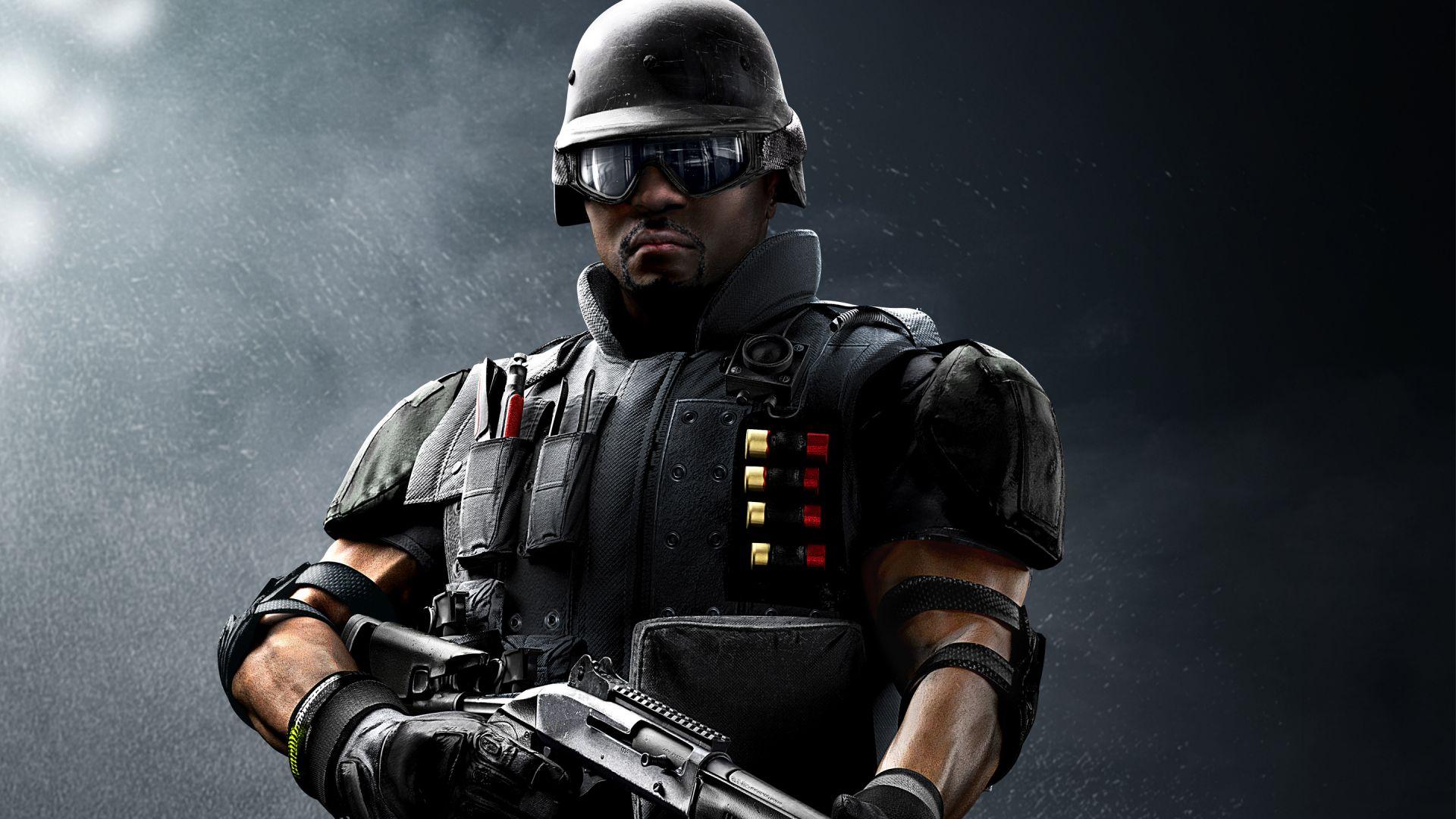 Wallpaper Tom clancy's rainbow six siege video game, fbi, swat castle
