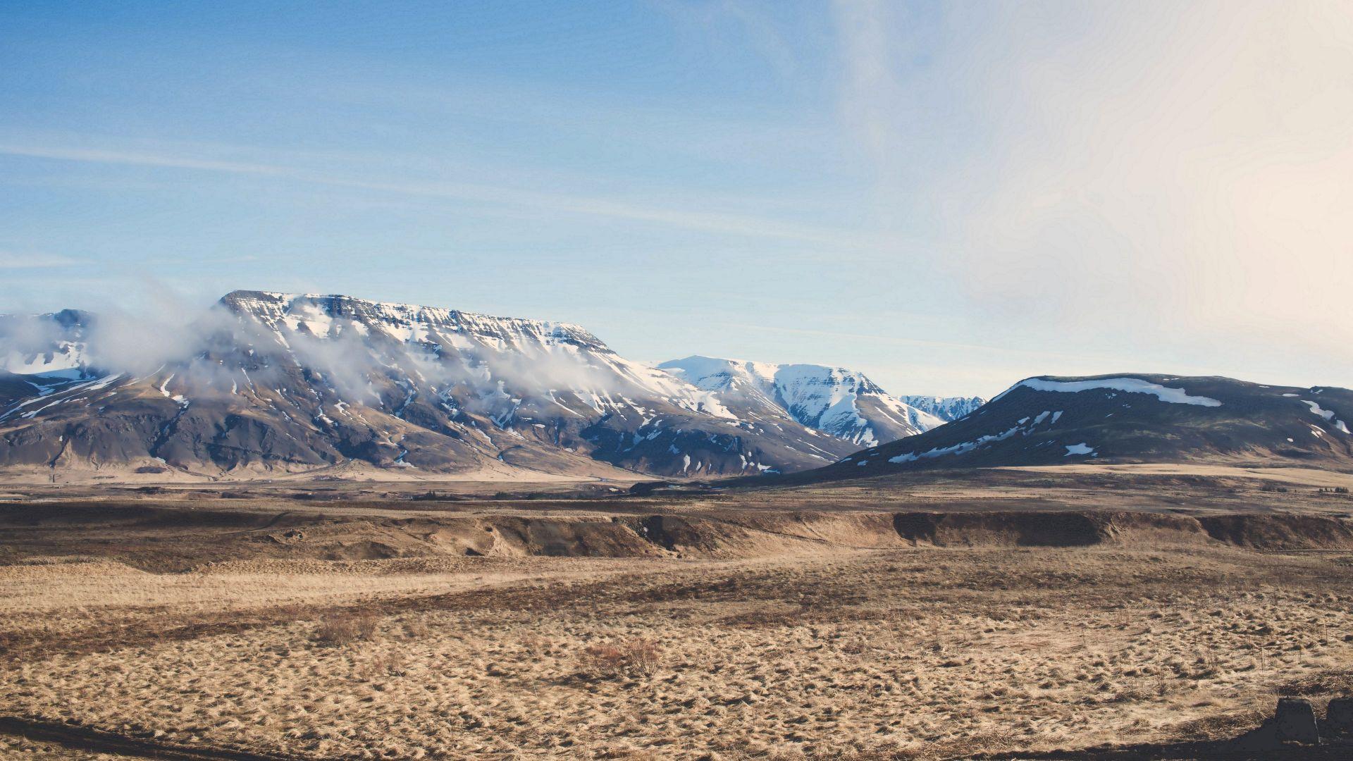 Wallpaper Iceland landscape by drew