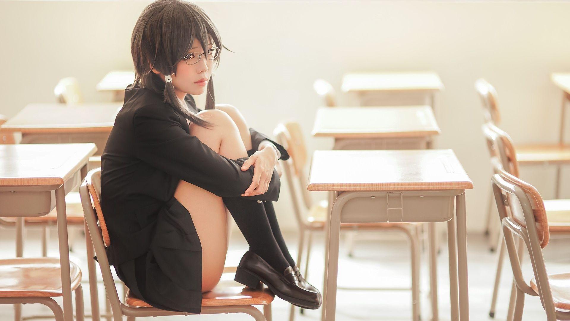 Wallpaper Asada shino, ely cosplay