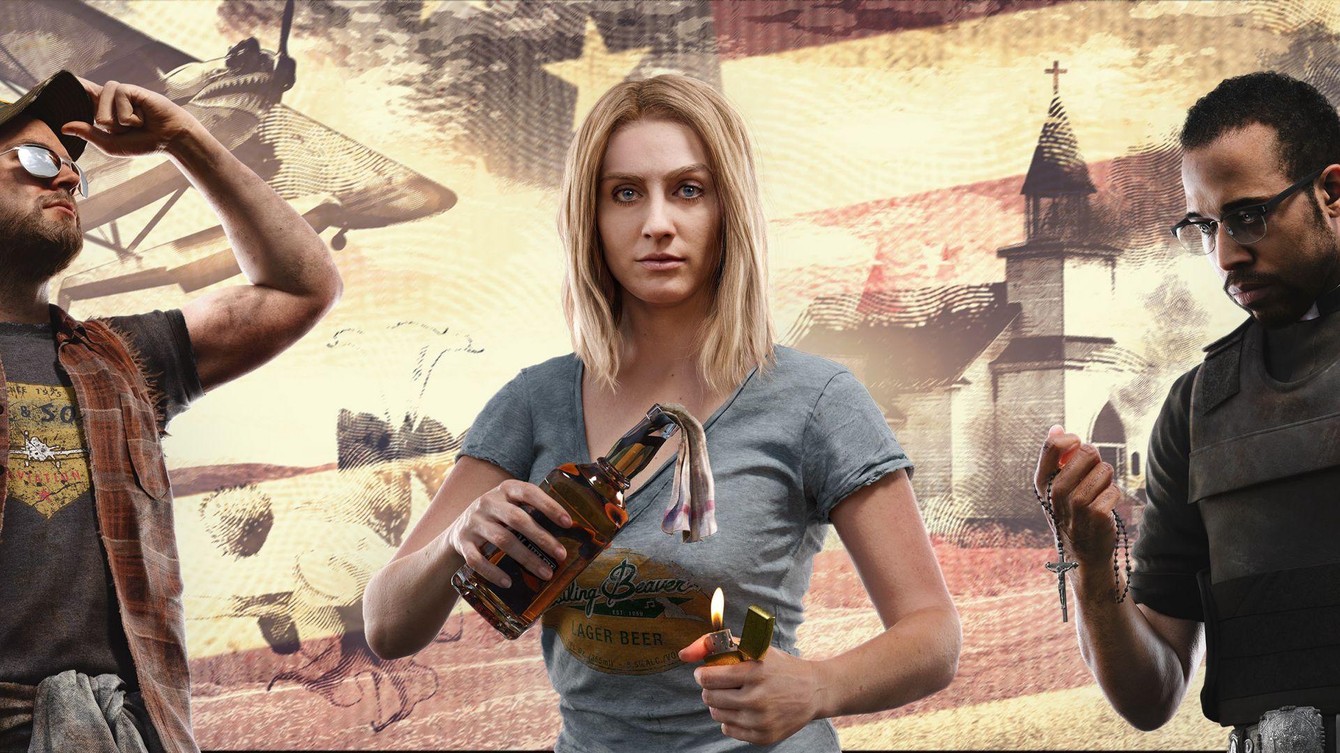 Wallpaper Far cry 5, widescreen, video game