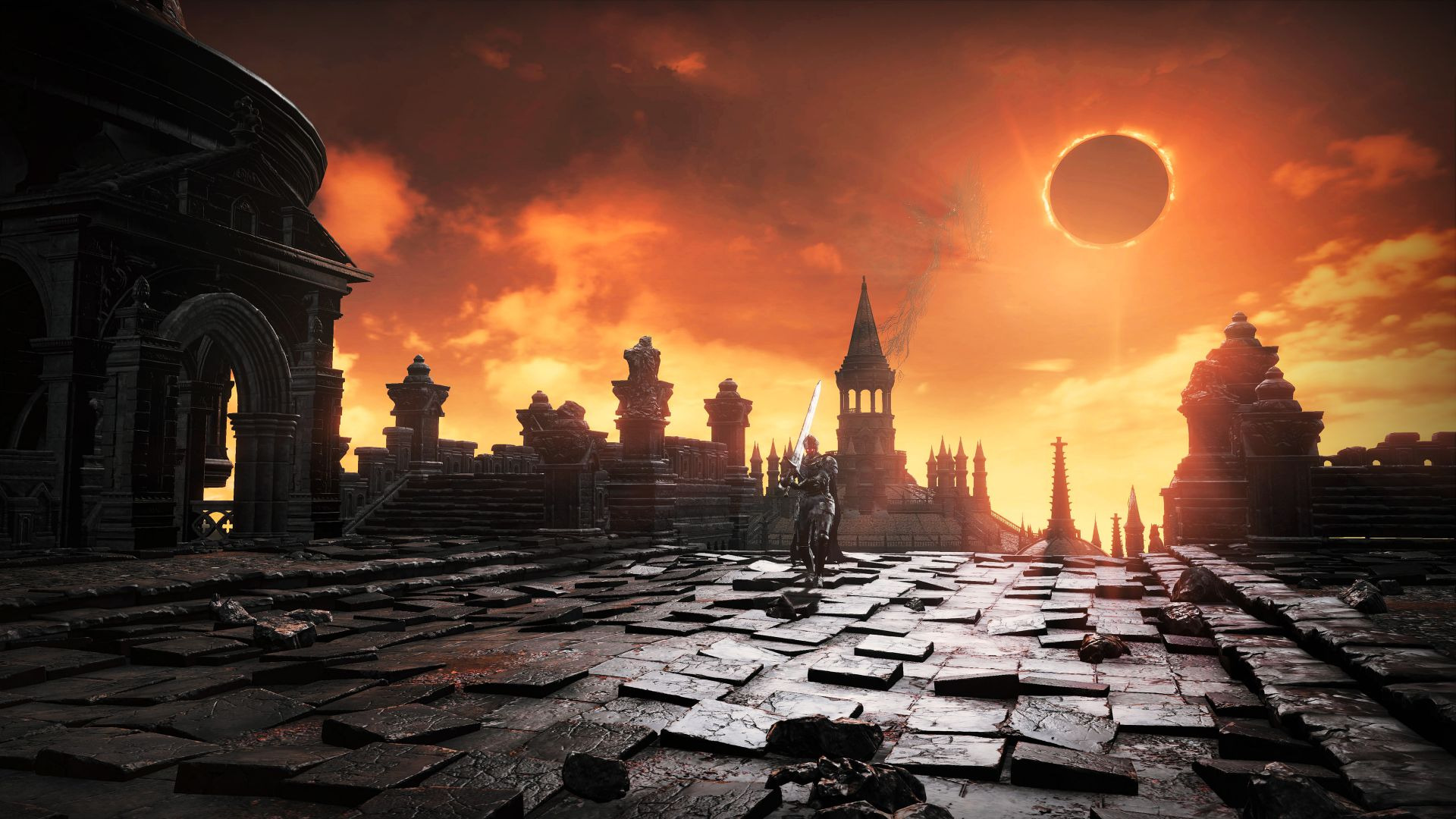 Wallpaper Dark souls 3 video game