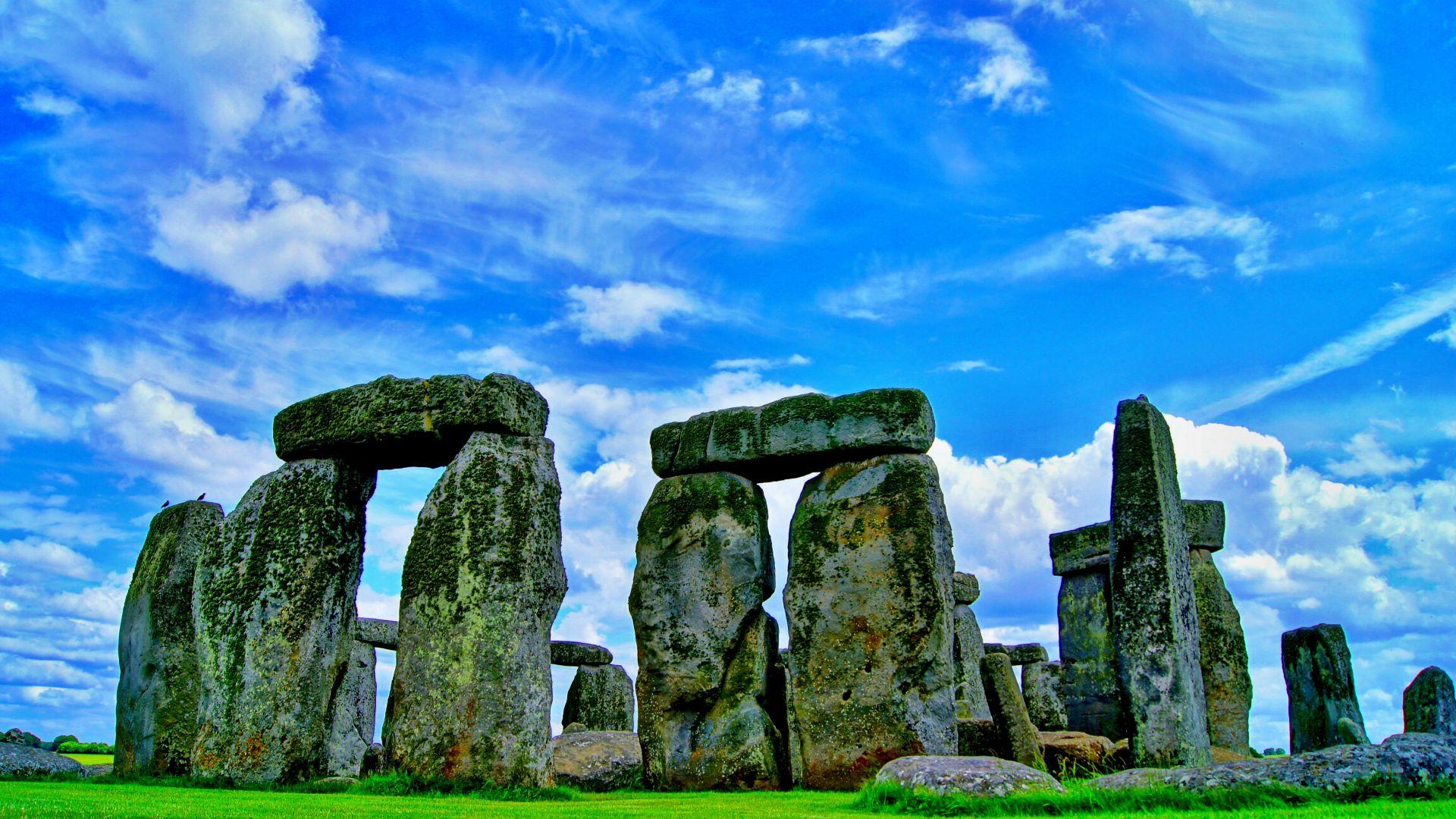 Wallpaper Stonehenge, stones, monument stone, nature