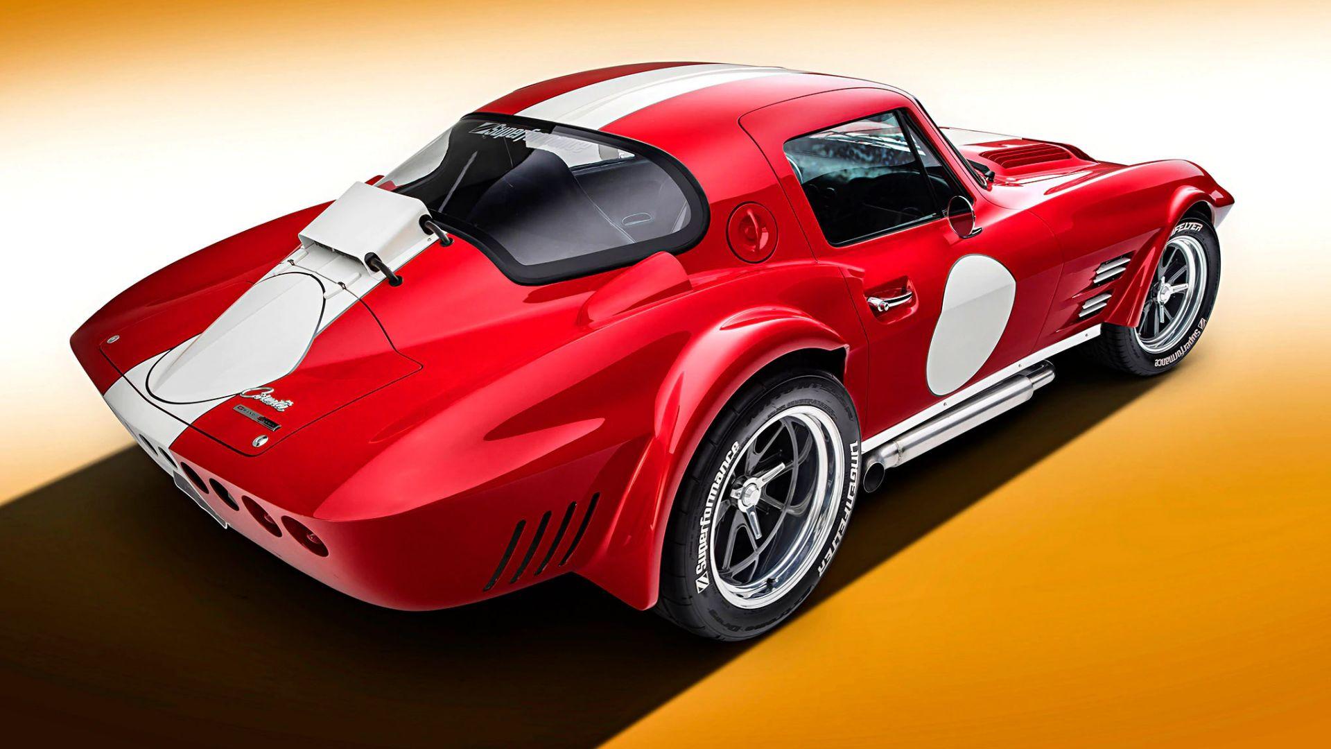 Desktop Wallpaper Muscle Car, Corvette, Rear, Hd Image ...