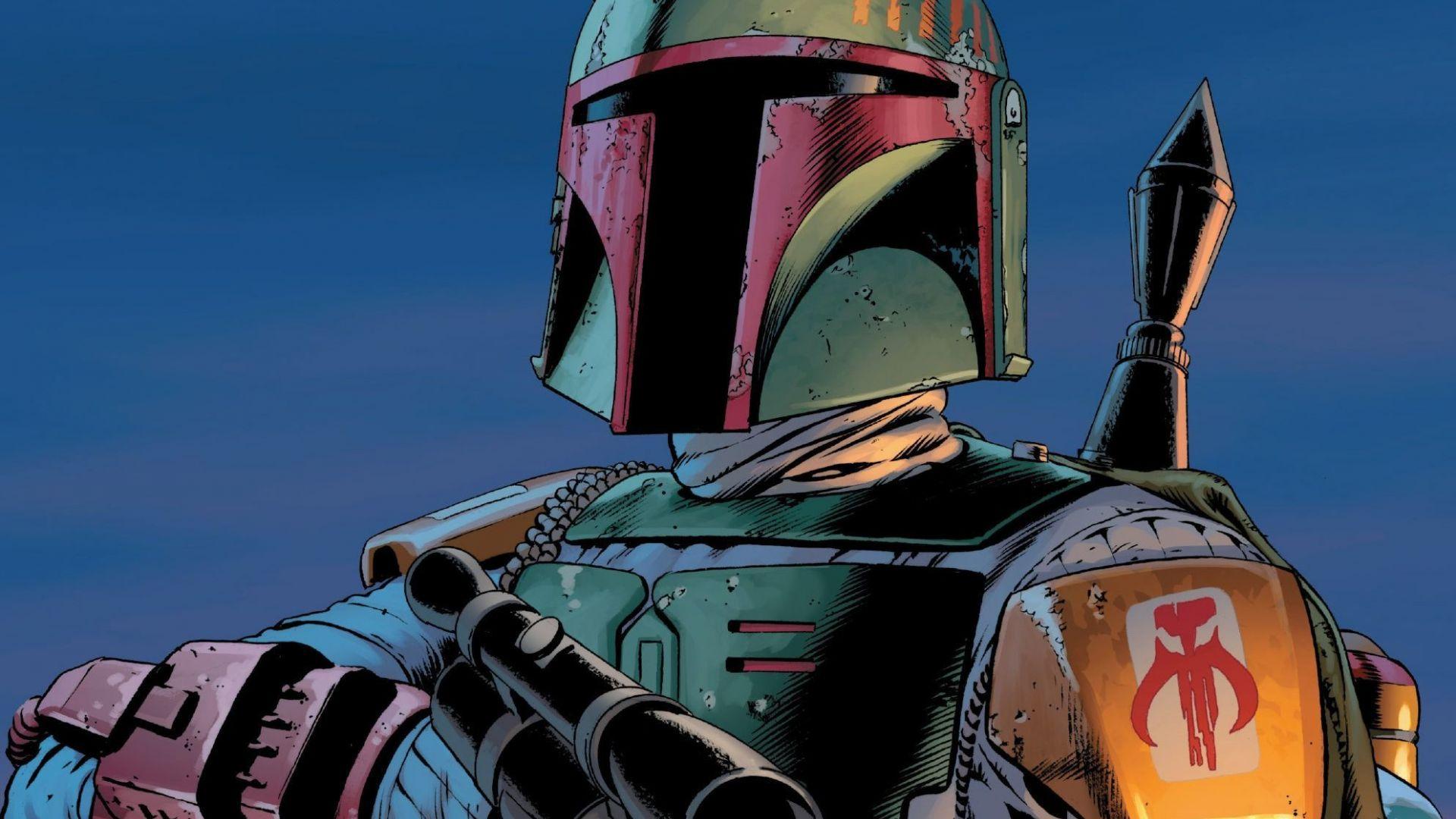 Desktop Wallpaper Boba Fett Star Wars Comics Soldier Hd Image Picture Background Eabaf8