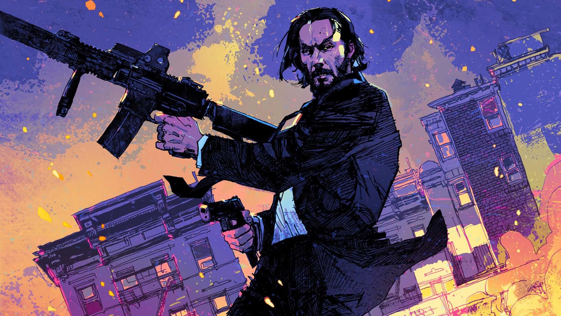 Desktop Wallpaper John Wick Chapter 2 Art Movie Hd Image